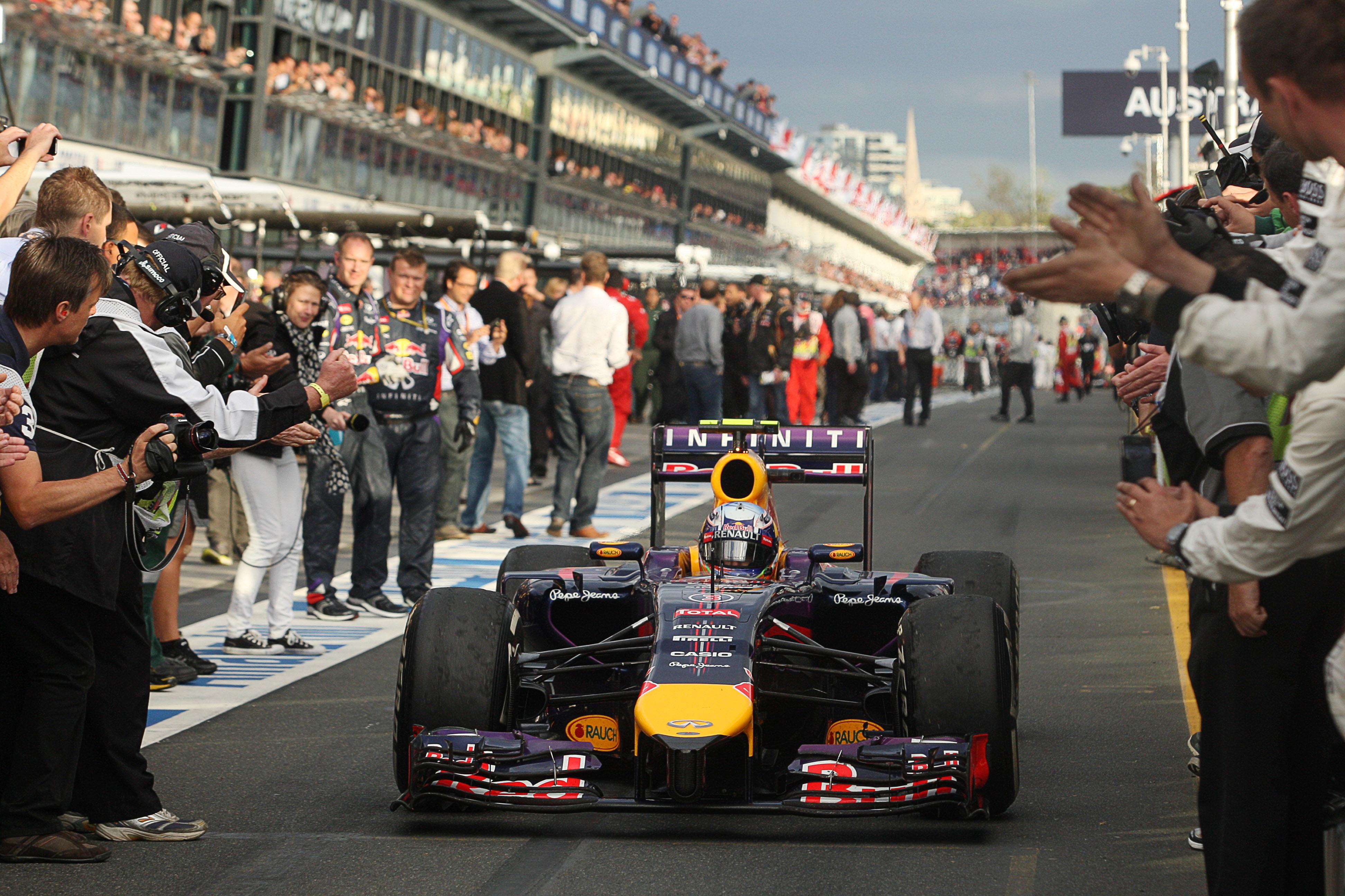 Daniel Ricciardo Red Bull Australia F1 2014