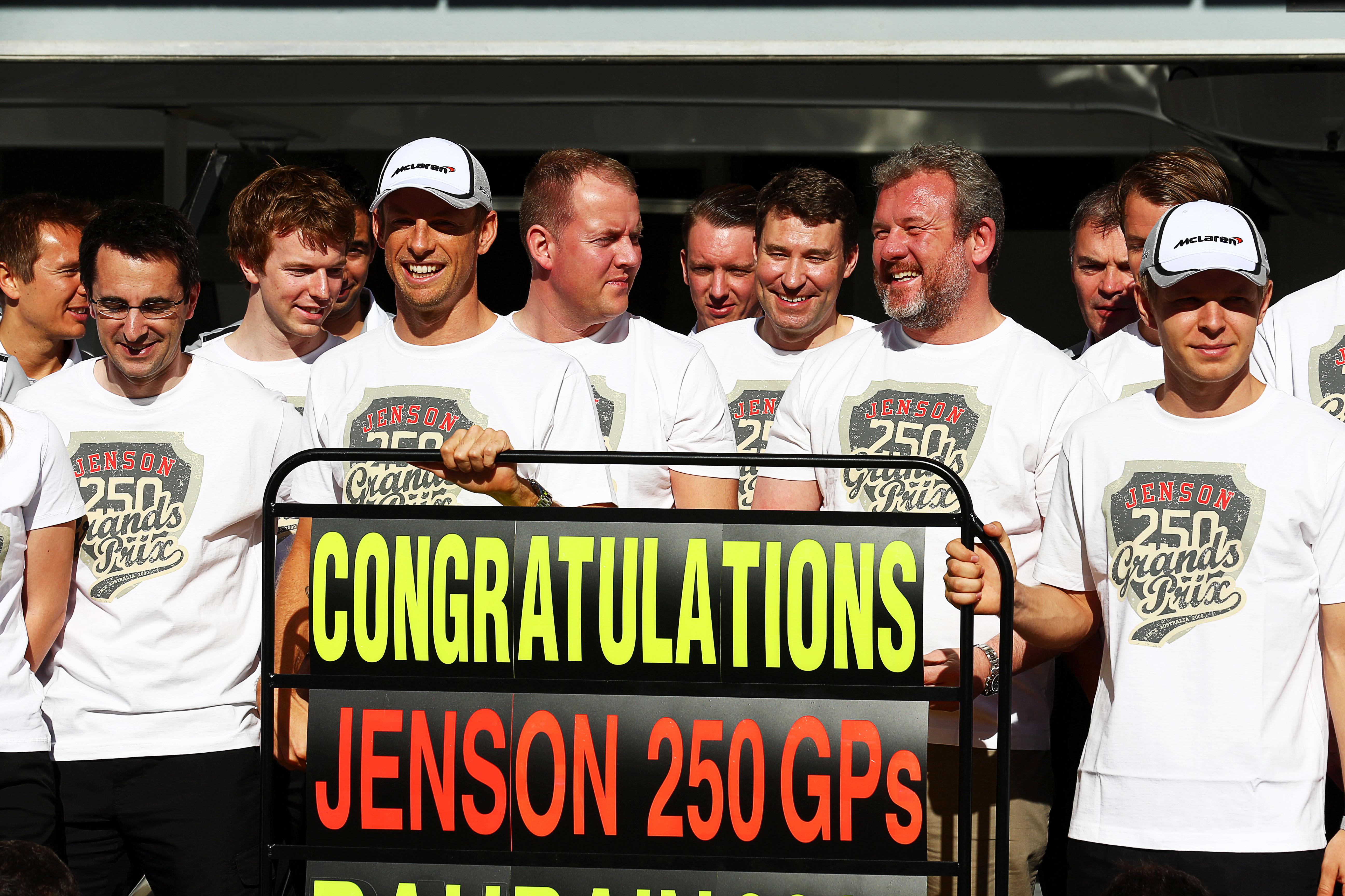 Jenson Button Bahrain F1 2014