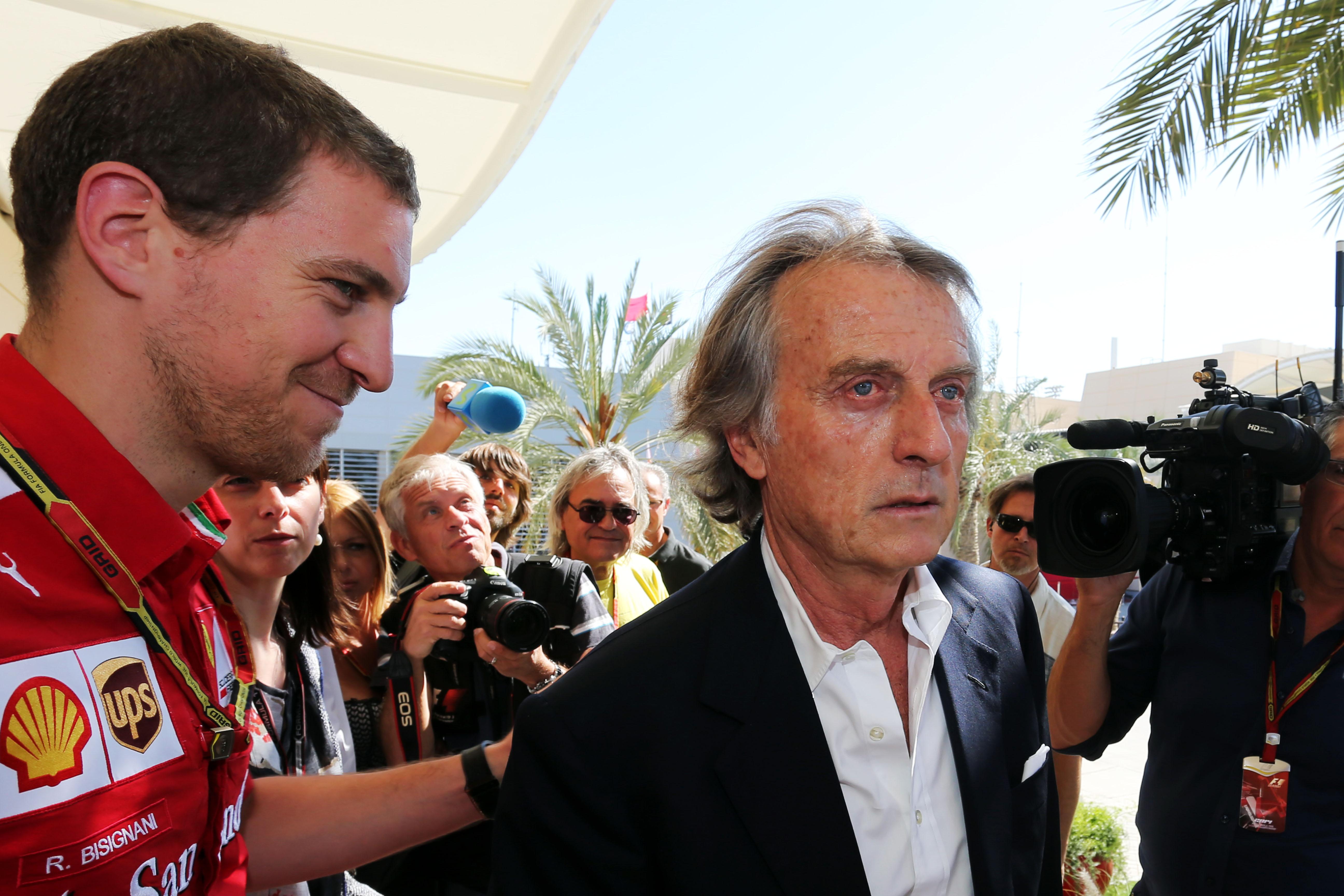 Luca di Montezemelo Ferrari F1 Bahrain 2014