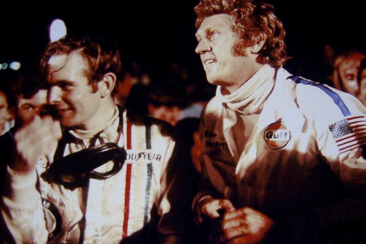 Steve McQueen Peter Revson Sebring 1970