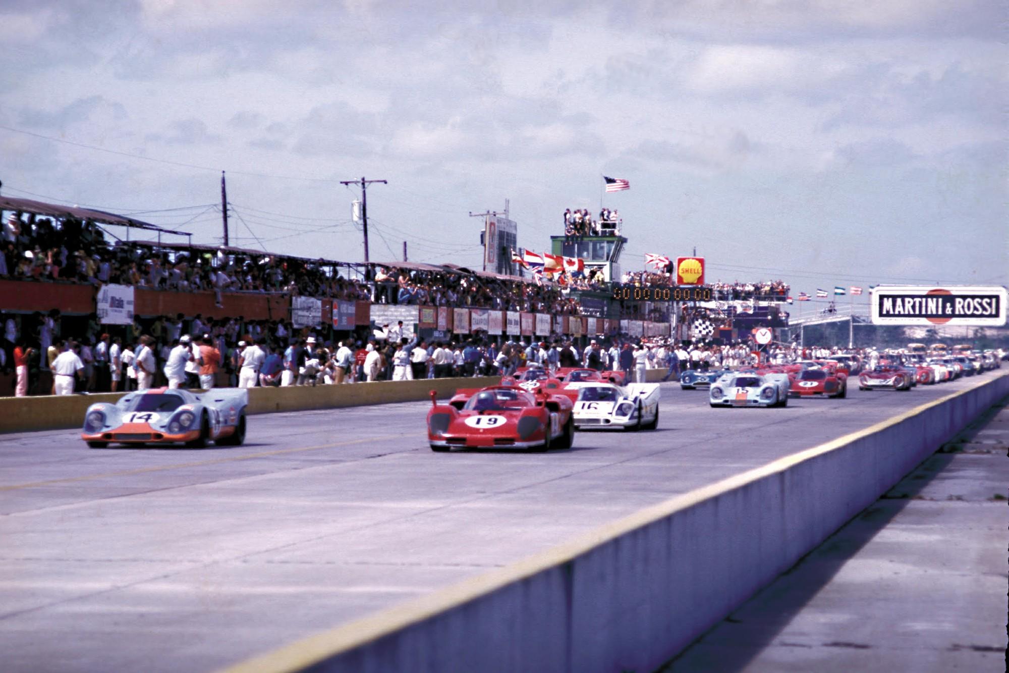 1970 Sebring start