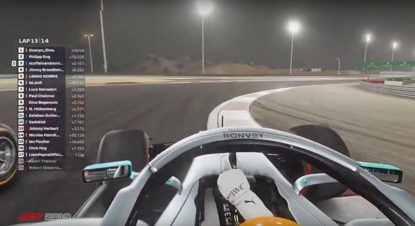 Vandoorne Eng F1 Esports 2020