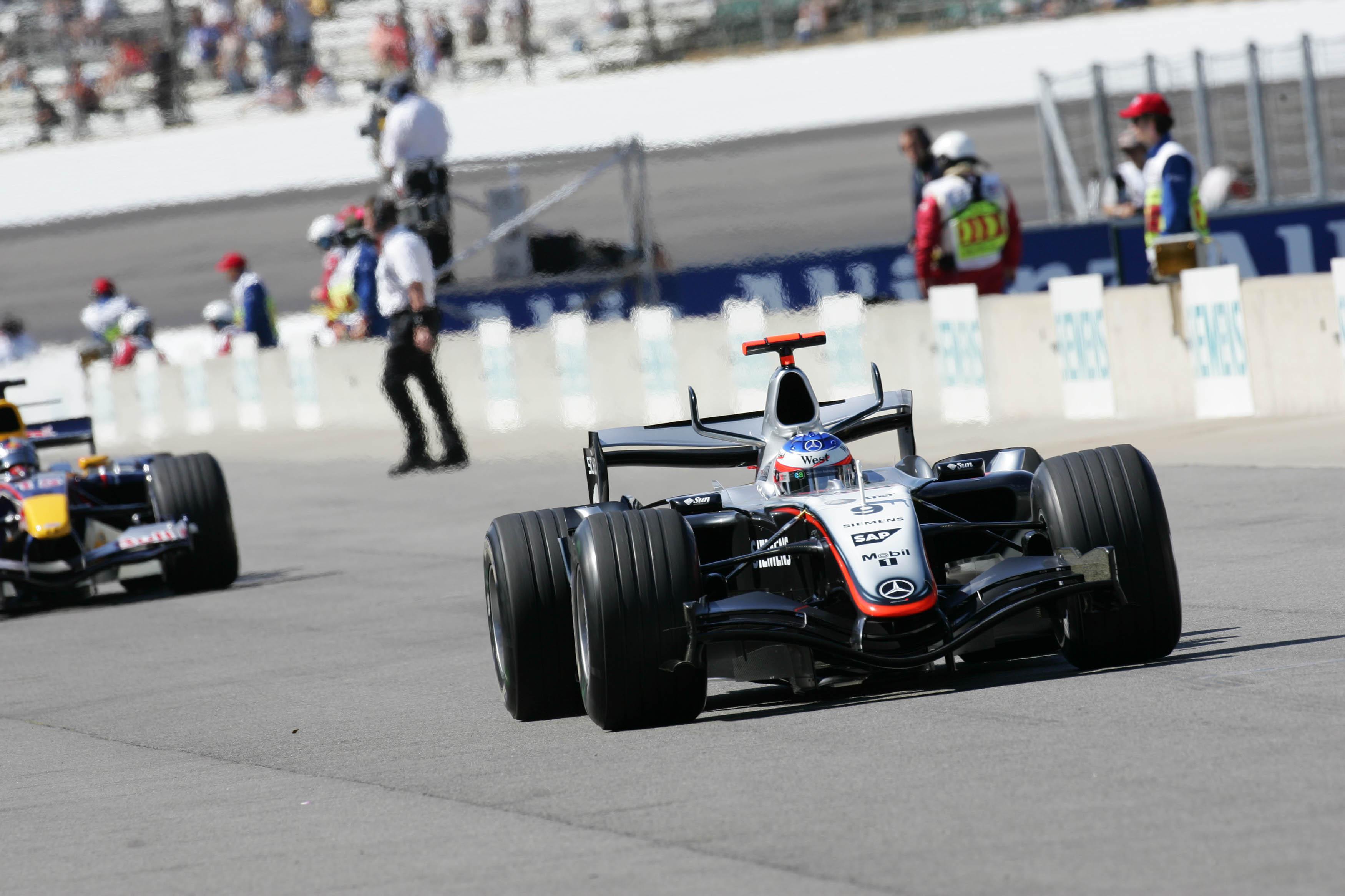 Formula 1 Grand Prix, Indianaoplis, Practice