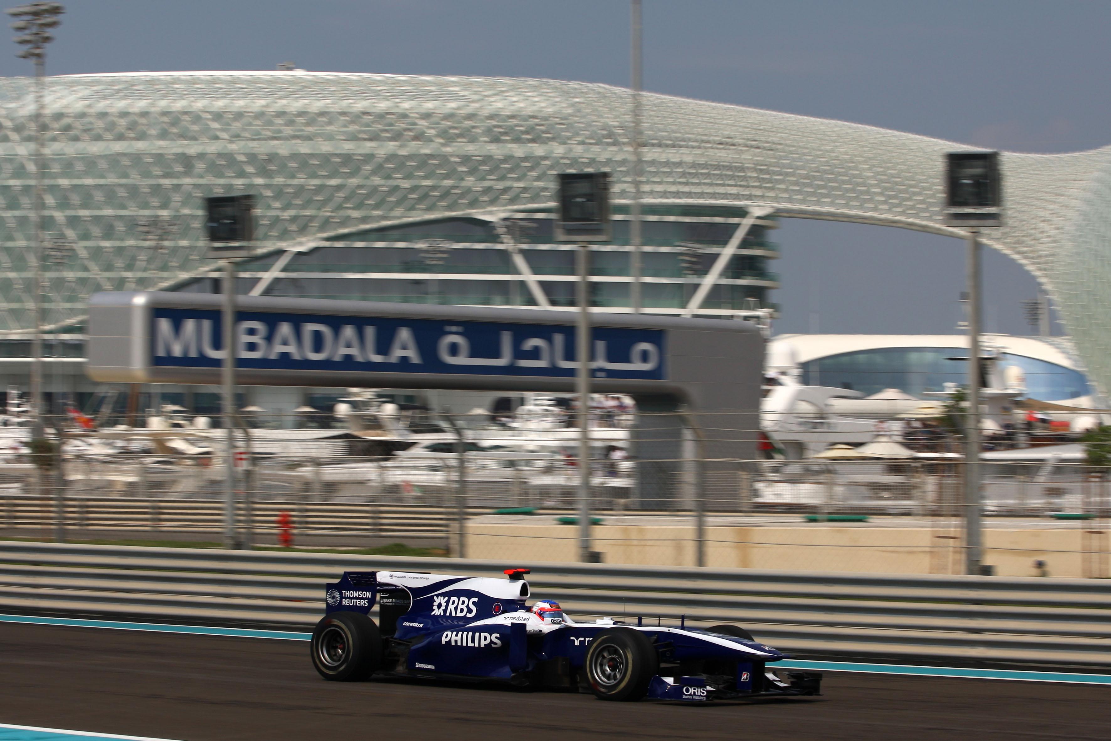Formula 1 Grand Prix, Abu Dhabi, Friday Practice