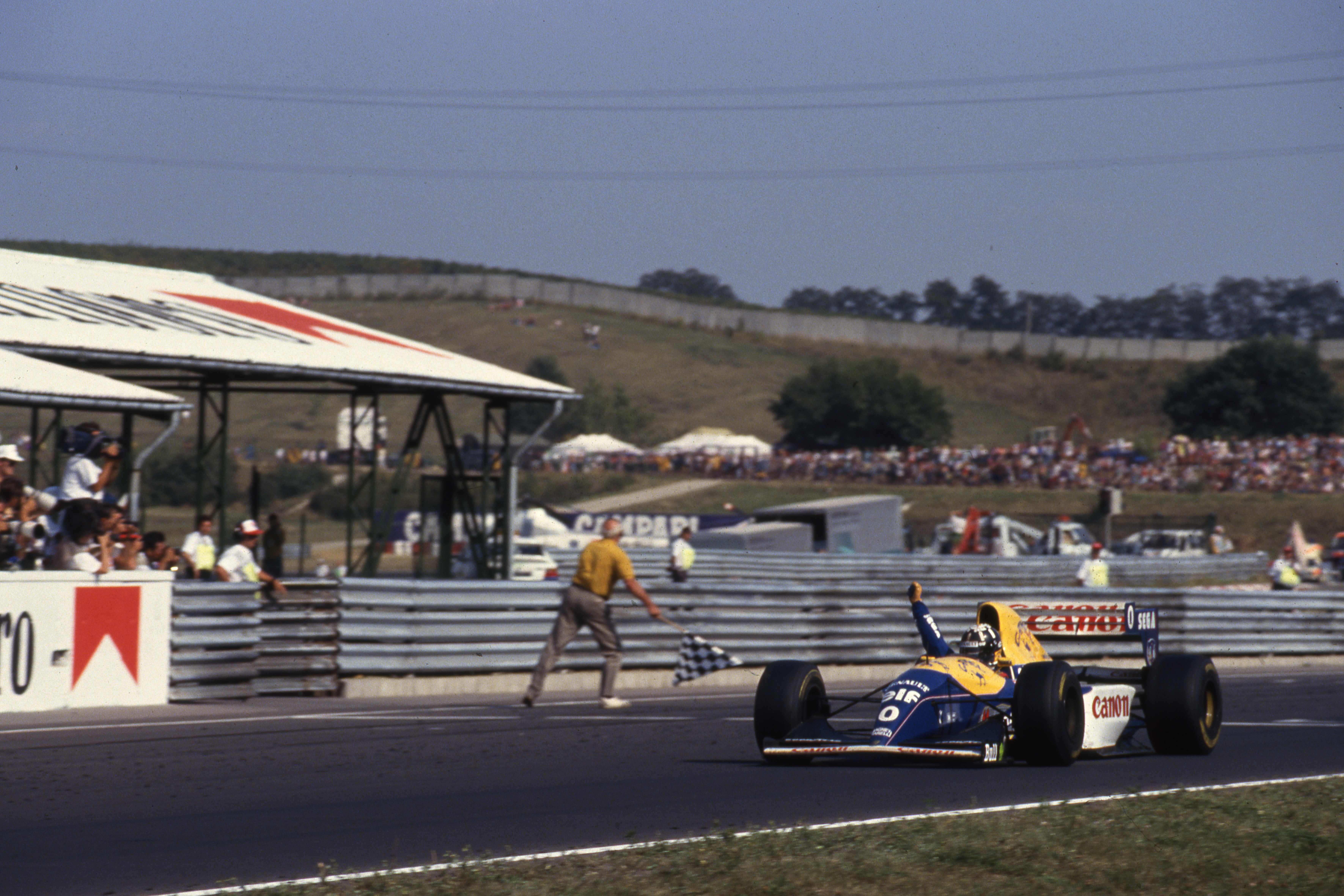 Hill Hungarian Grand Prix Hungaroring 1993