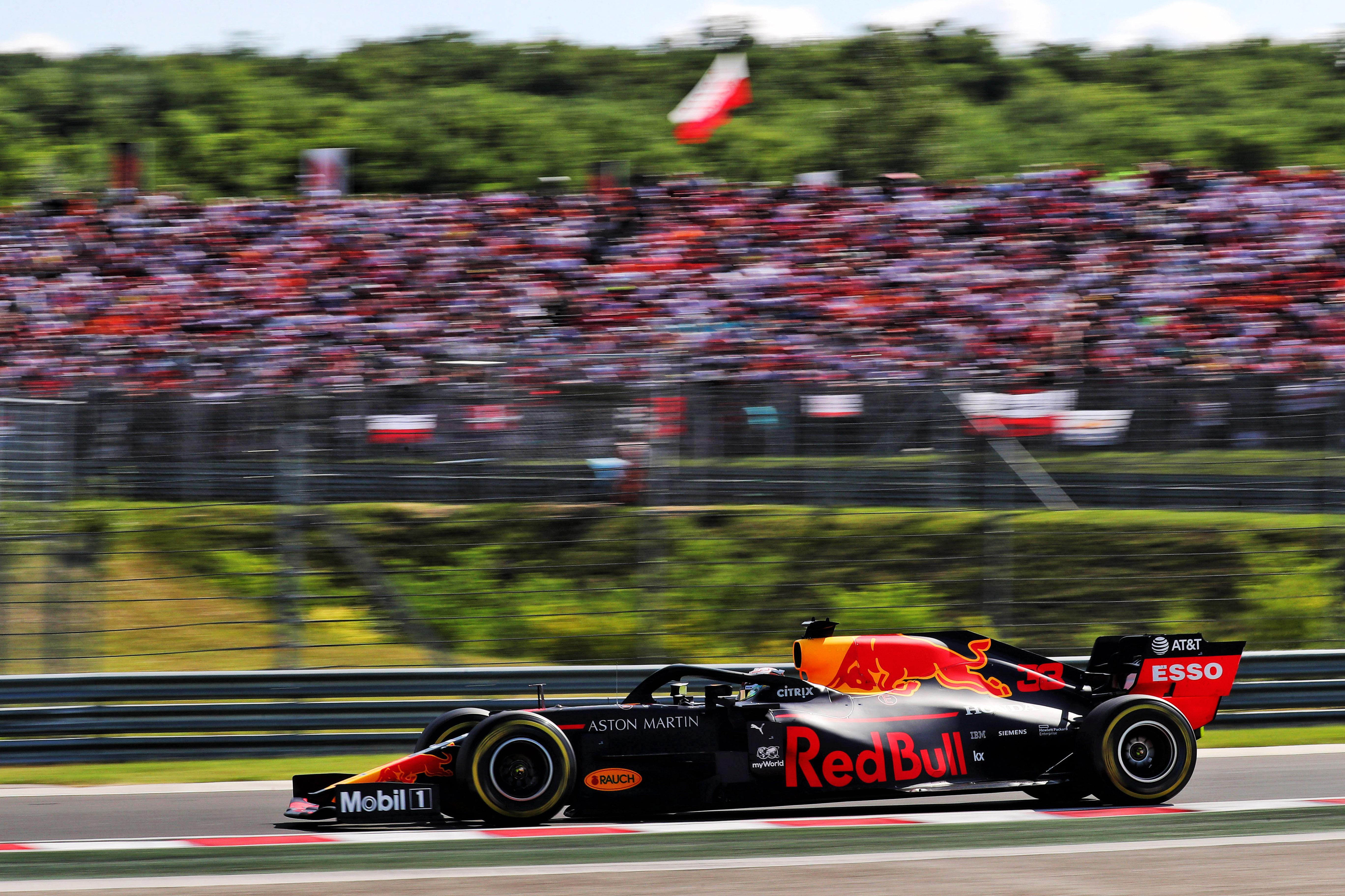 Max Verstappen Red Bull Hungarian Grand Prix Hungaroring 2019