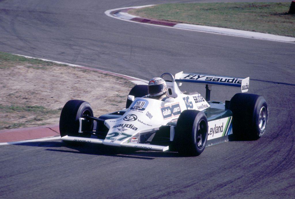 Alan Jones Williams F1