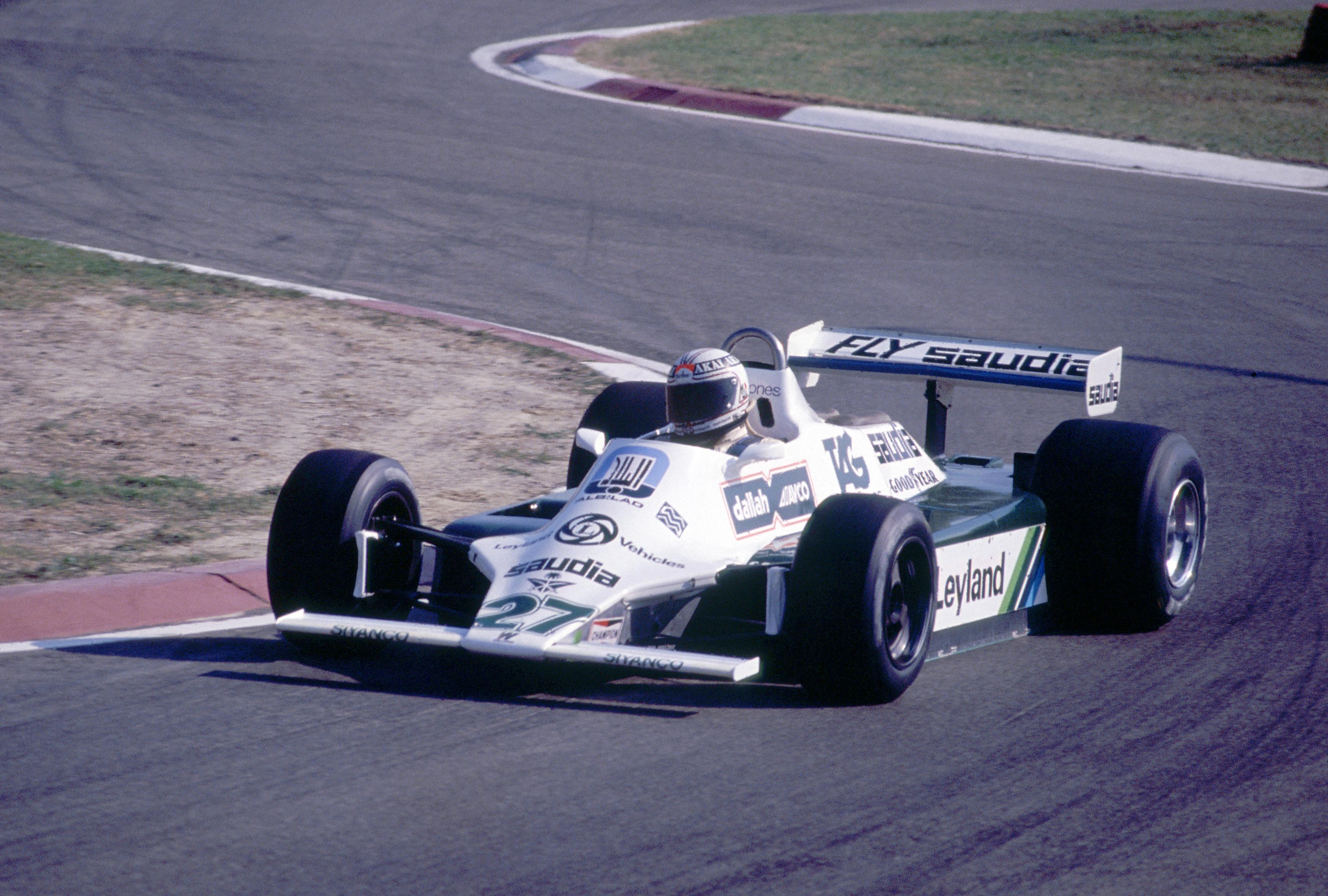 Alan Jones Williams Italian Grand Prix 1980 Imola