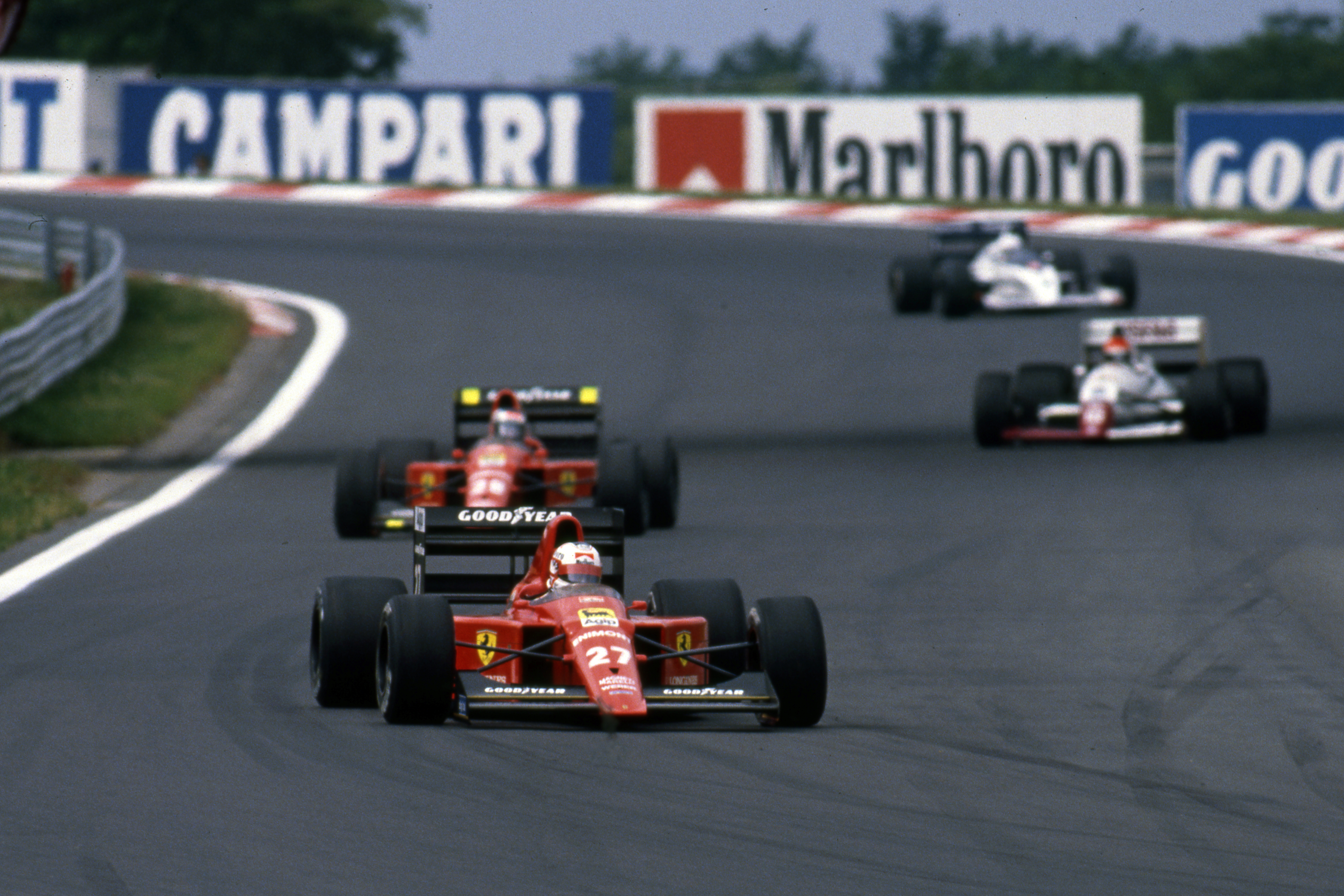 Nigel Mansell Ferrari Hungarian Grand Prix 1989