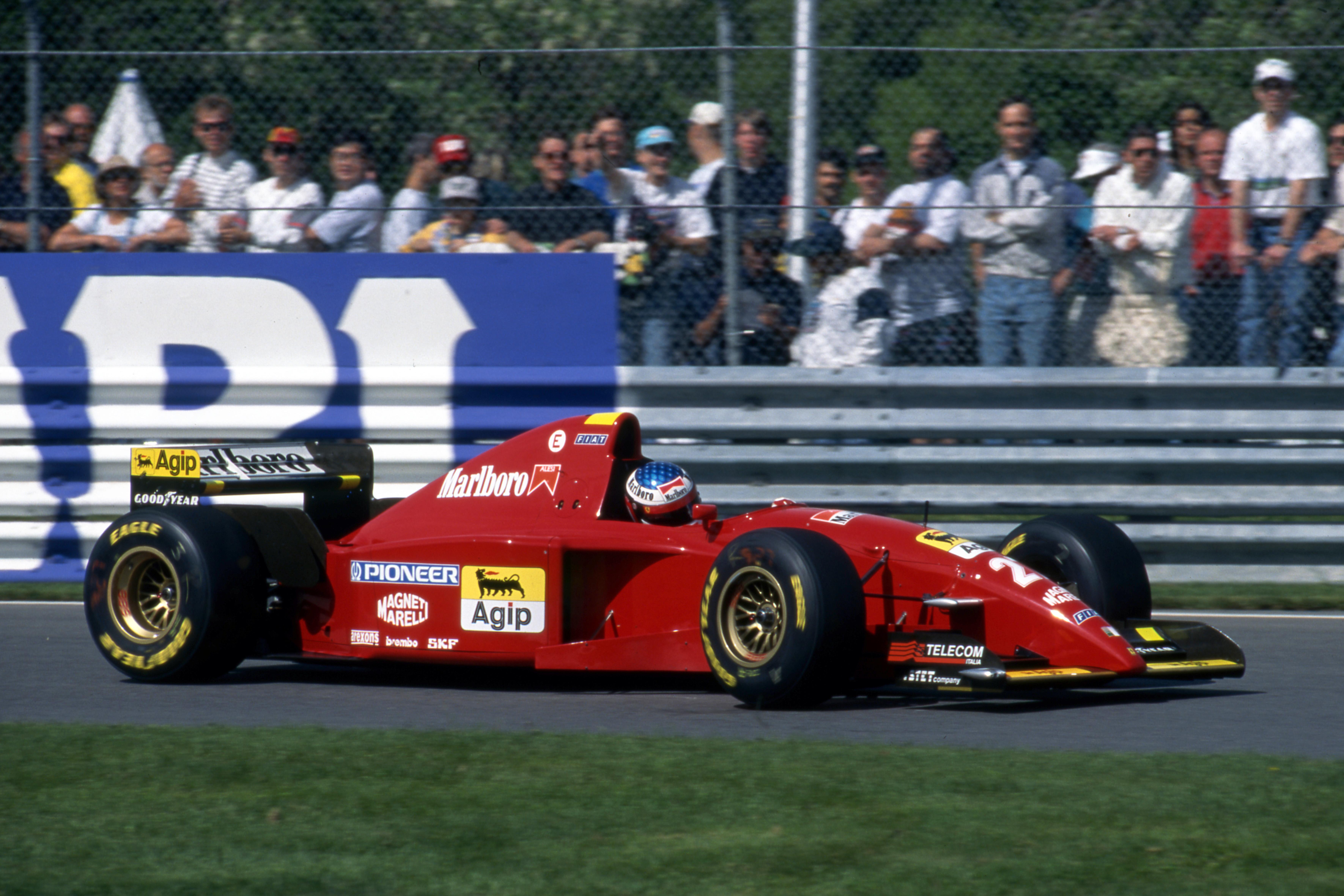 Jean Alesi Ferrari Canadian Grand Prix 1995 Montreal