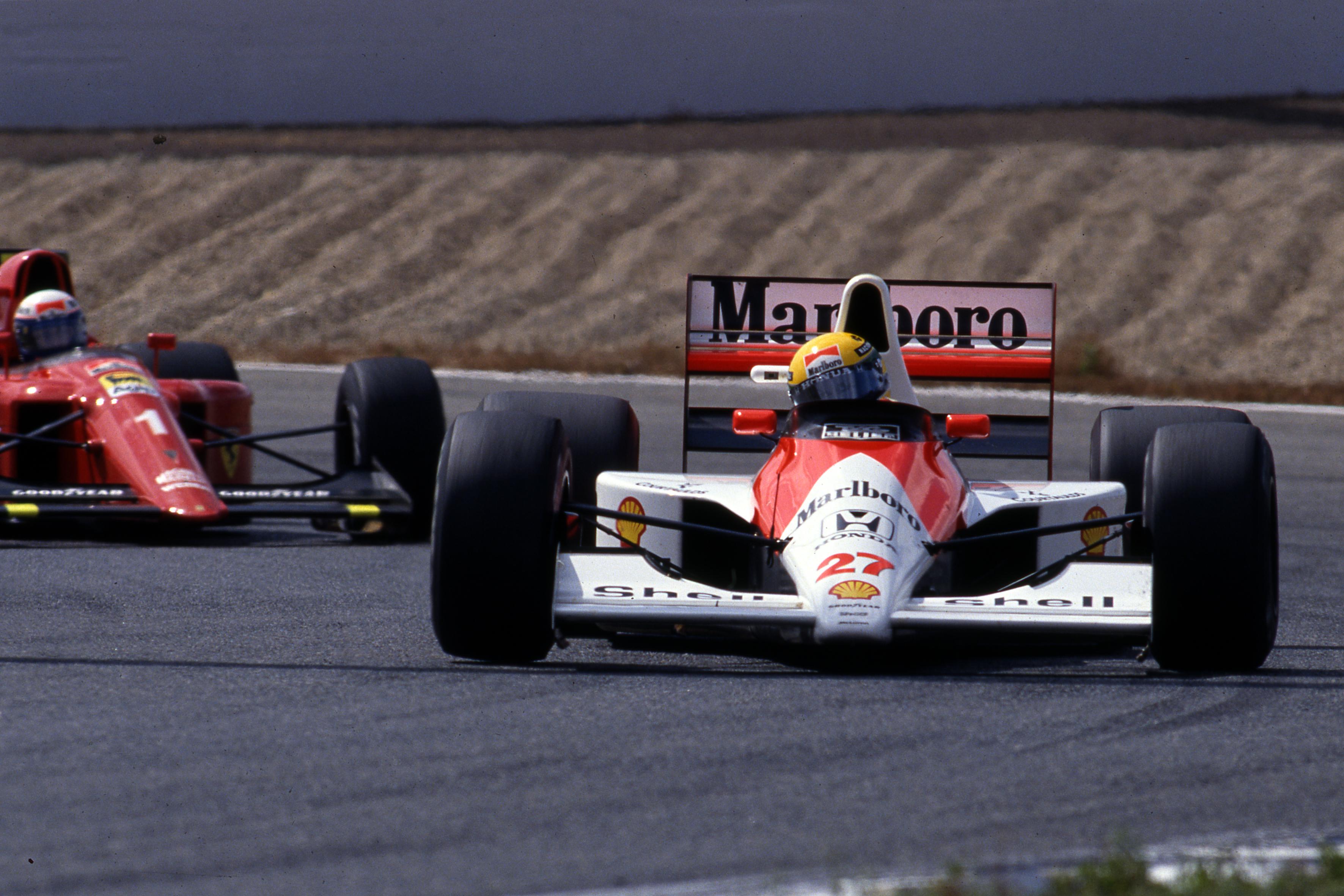 Ayrton Senna McLaren Spanish Grand Prix 1990 Jerez