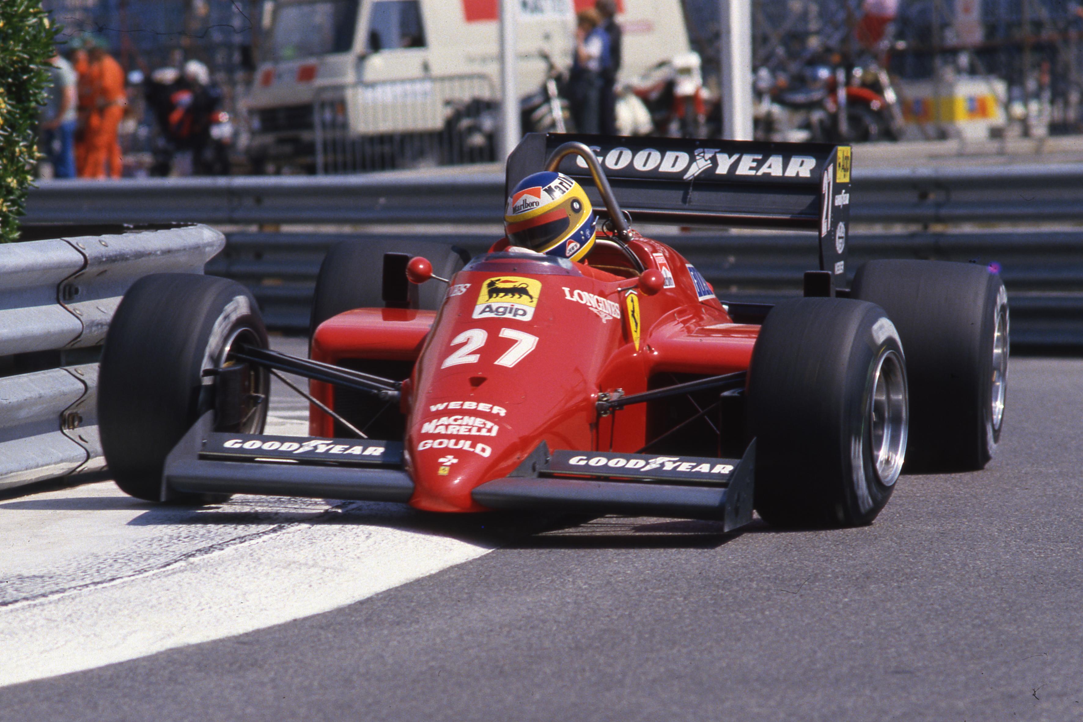 Michele Alboreto Ferrari Monaco Grand Prix 1985