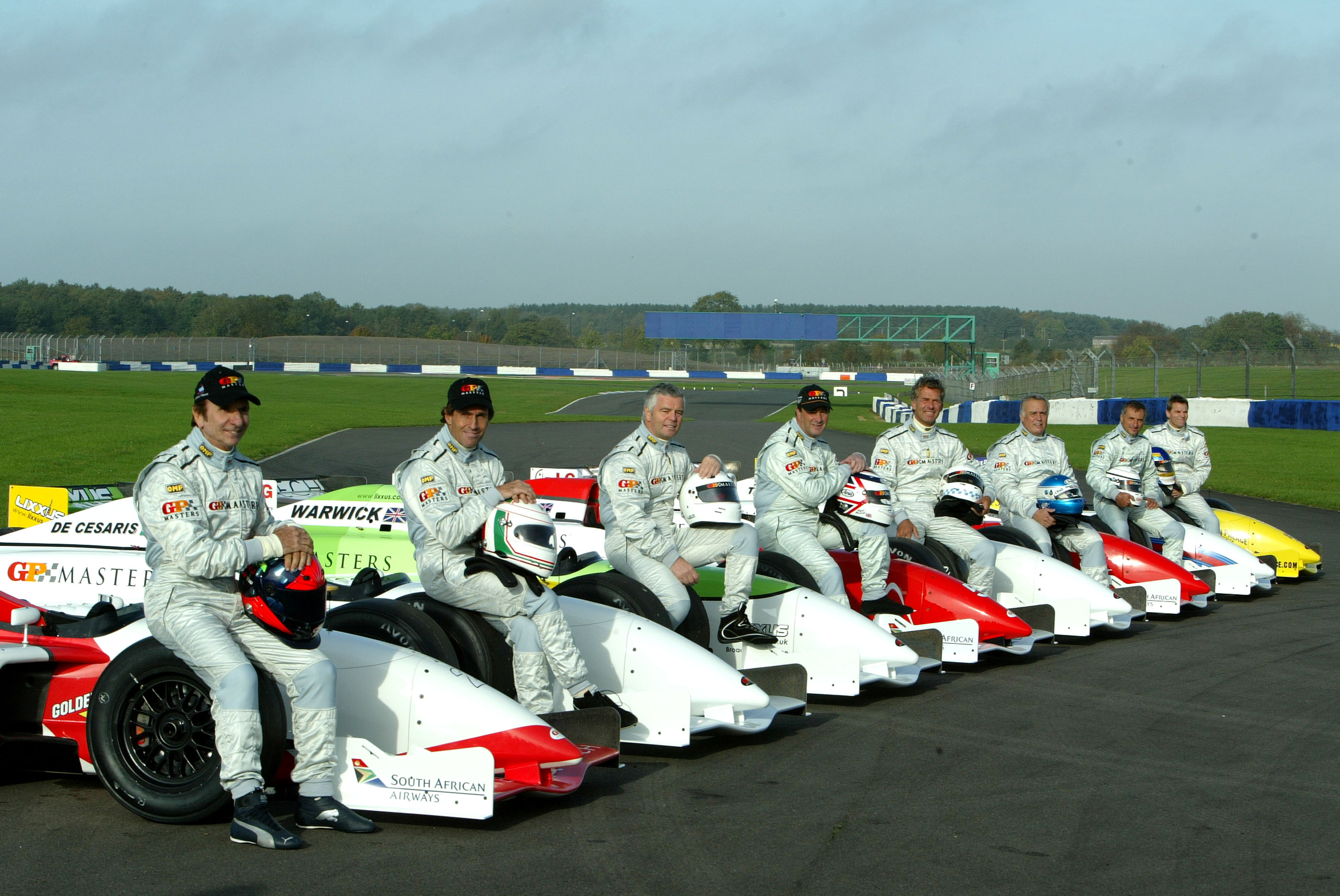 Gp Masters Testing, Silverstone