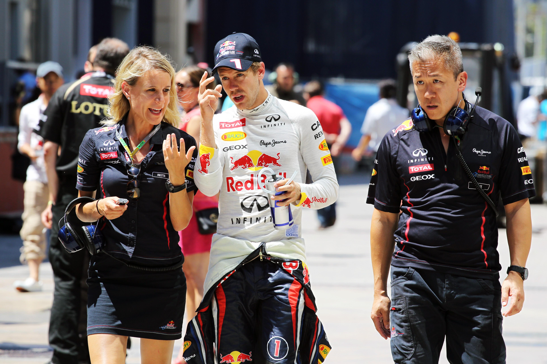 Motor Racing Formula One World Championship European Grand Prix Race Day Valencia, Spain