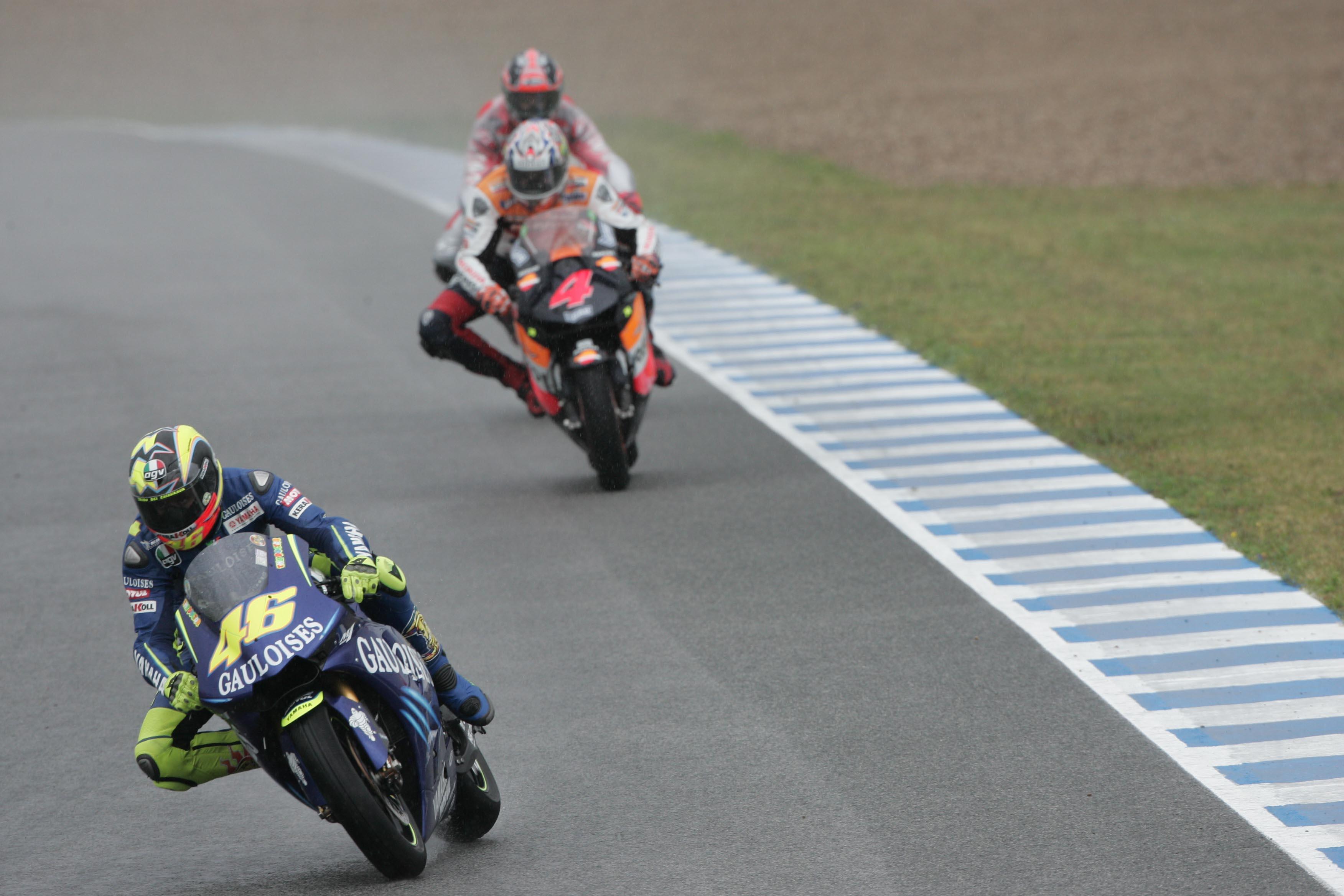 Rossi, Spanish Motogp, 2004