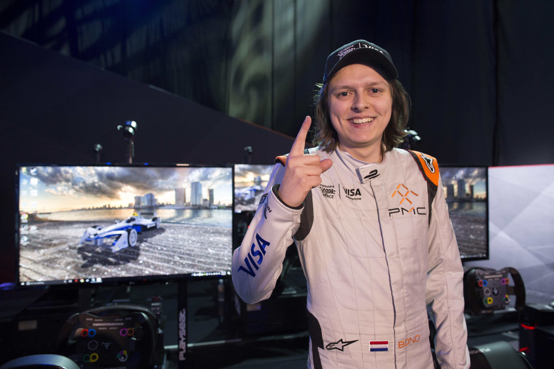 Bono Huis wins Formula E Las Vegas eRace 2017
