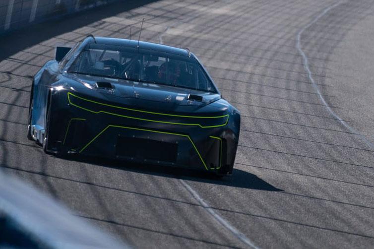 NASCAR Gen 7 test