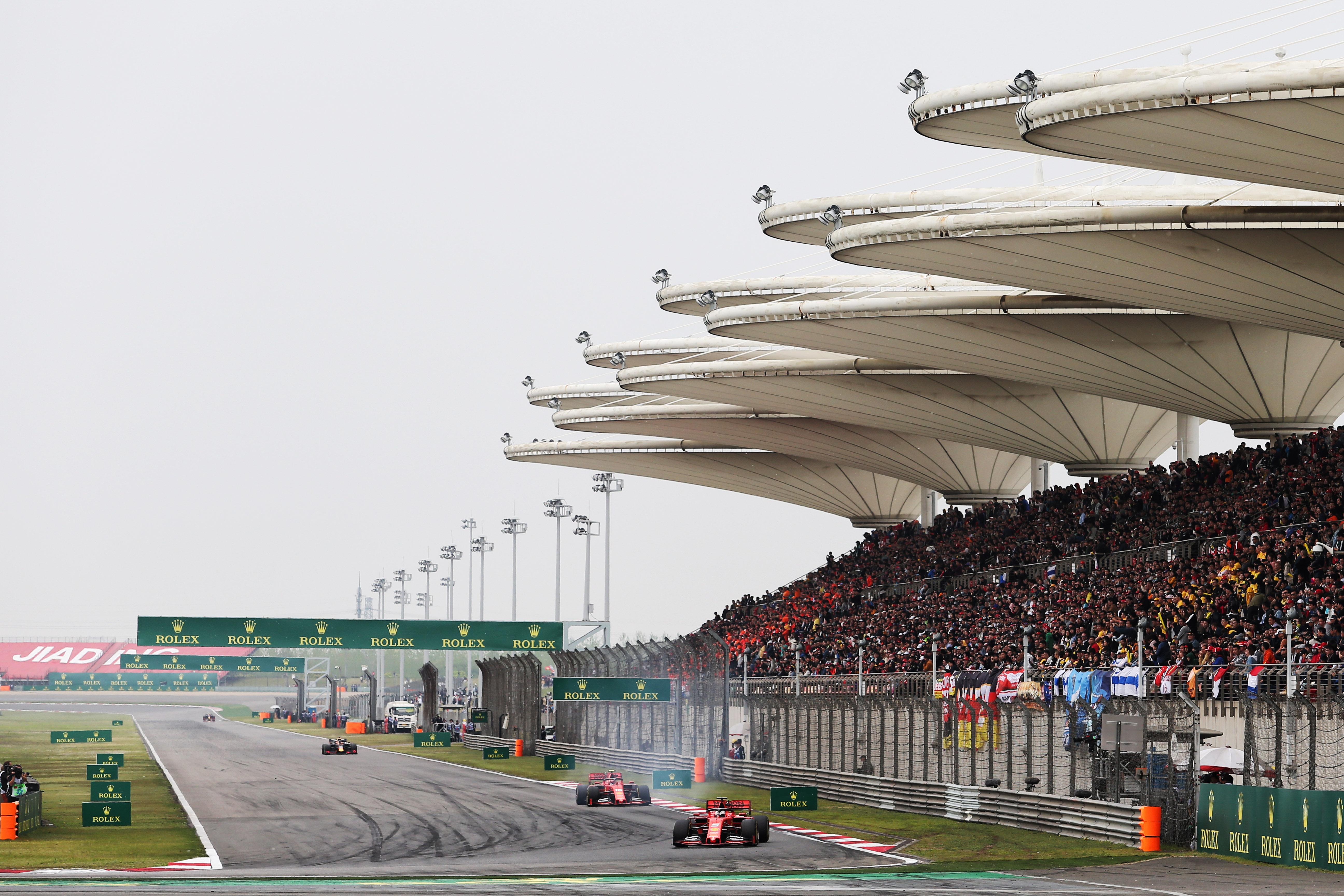 Motor Racing Formula One World Championship Chinese Grand Prix Race Day Shanghai, China