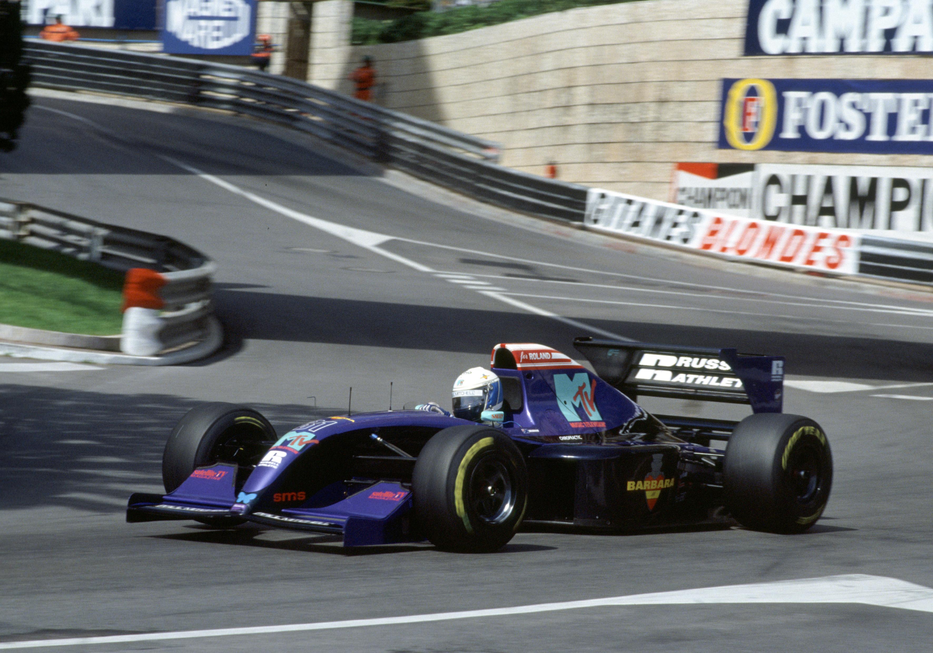 David Brabham Simtek Monaco Grand Prix 1994