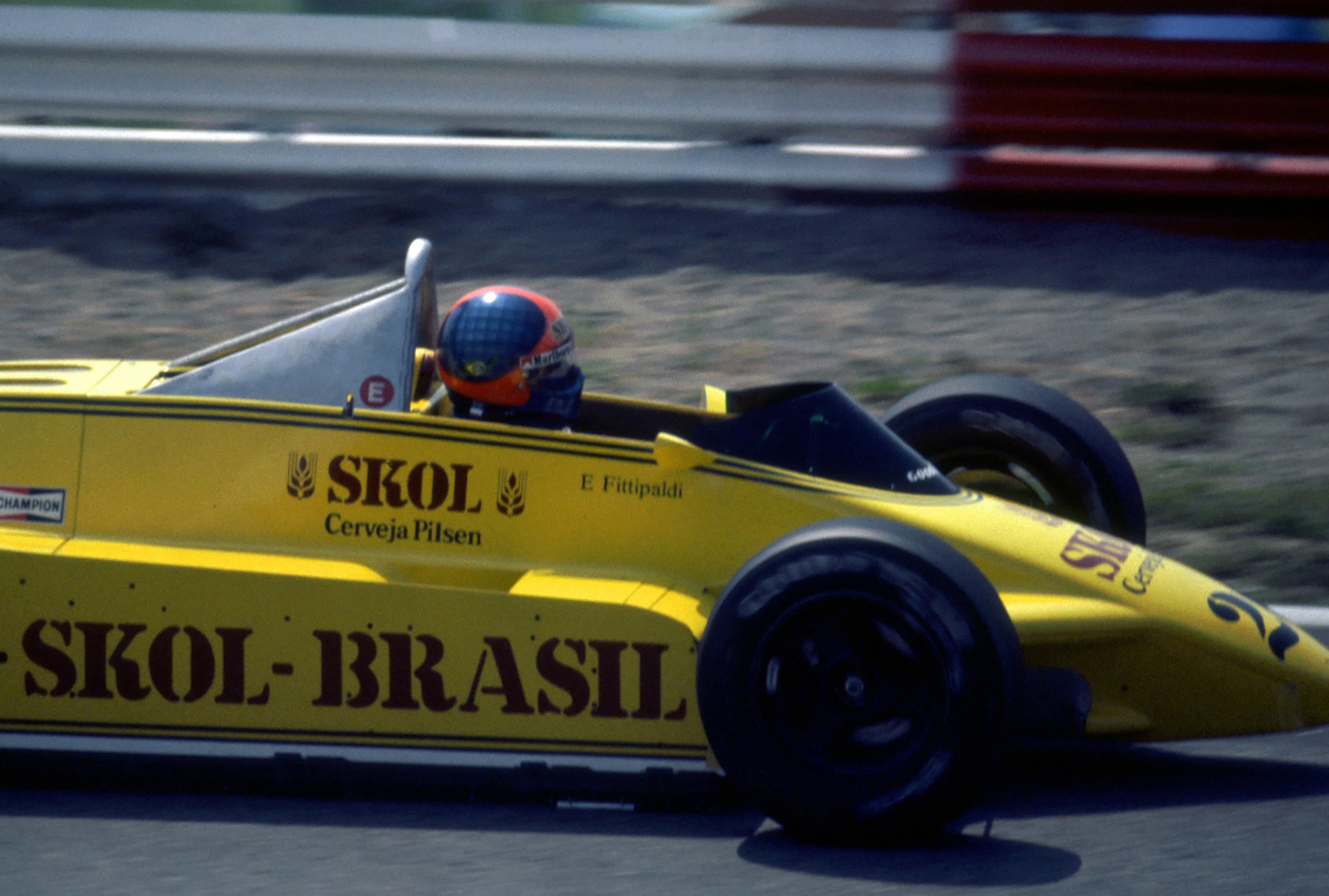 Emerson Fittipaldi Austrian Grand Prix 1980