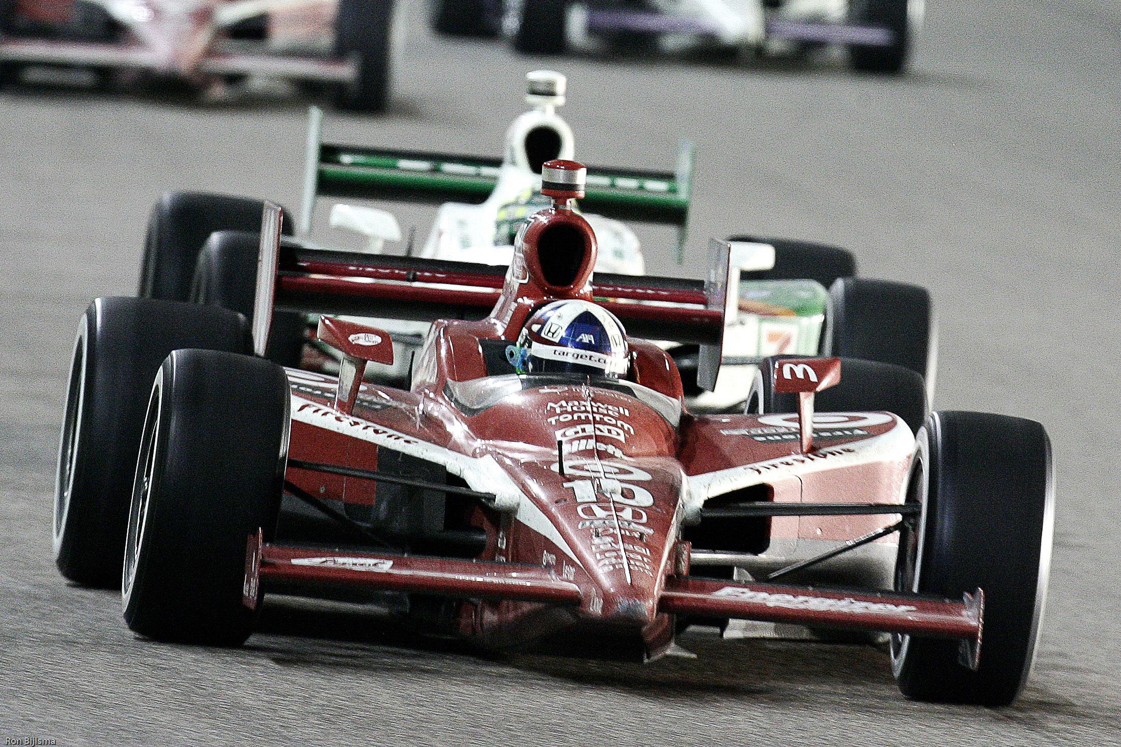 Dario Franchitti Ganassi Homestead IndyCar 2010