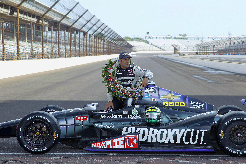 Tony Kanaan wins 2013 Indianapolis 500
