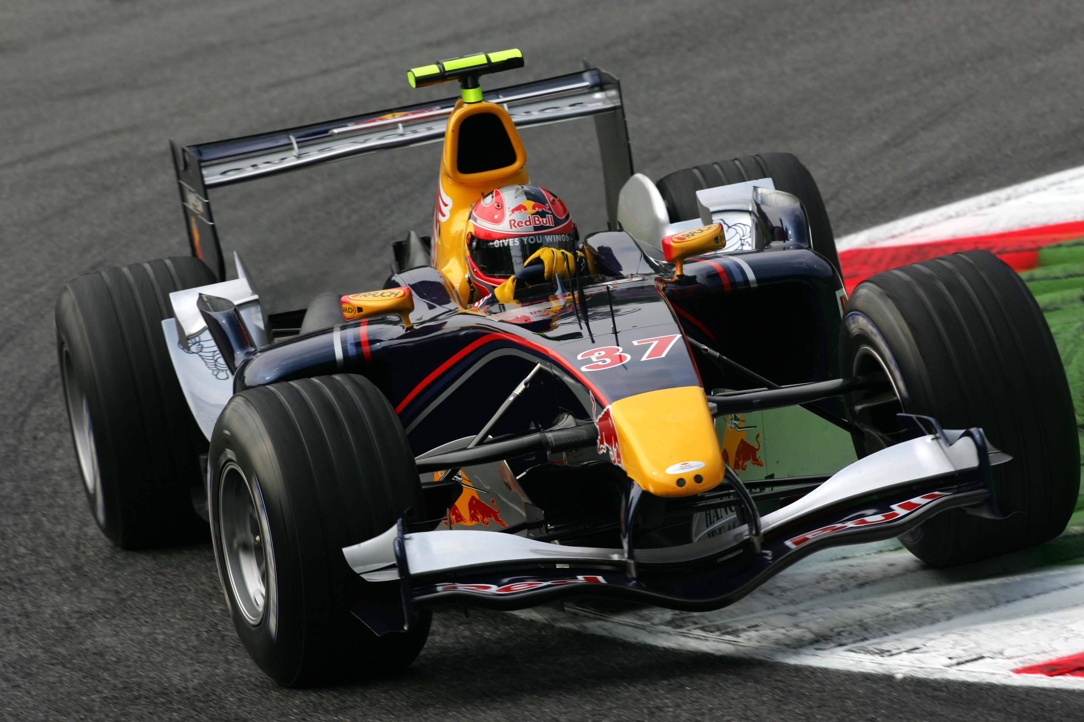 Vitantonio Liuzzi Red Bull 2005 Italian Grand Prix Monza