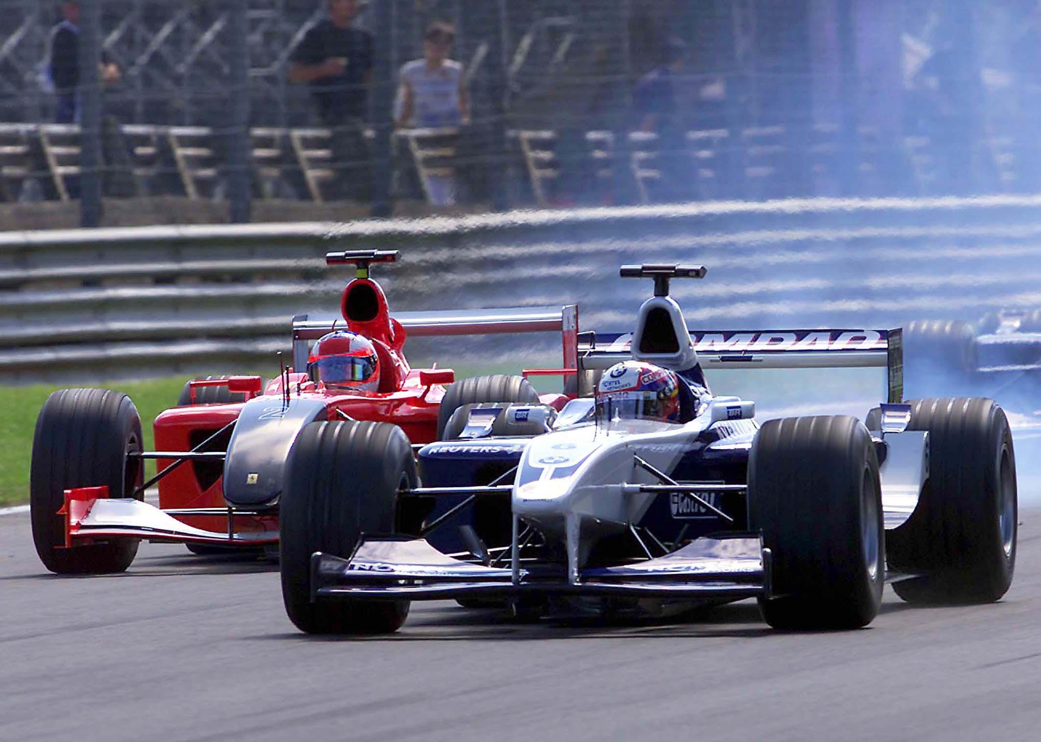 Juan Pablo Montoya Williams Italian Grand Prix 2001 Monza
