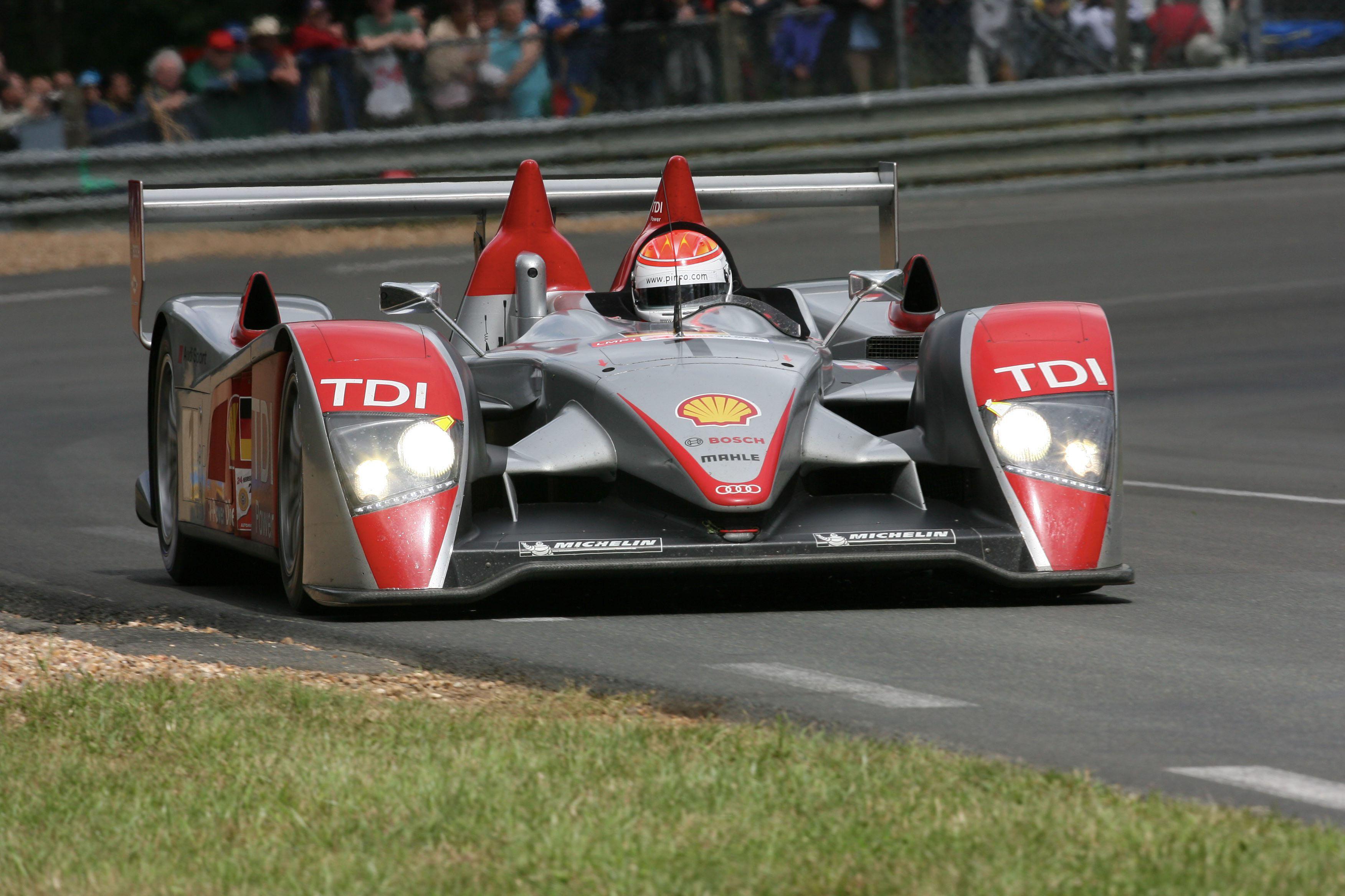 Emanuele Pirro Audi Le Mans 24 Hours 2007