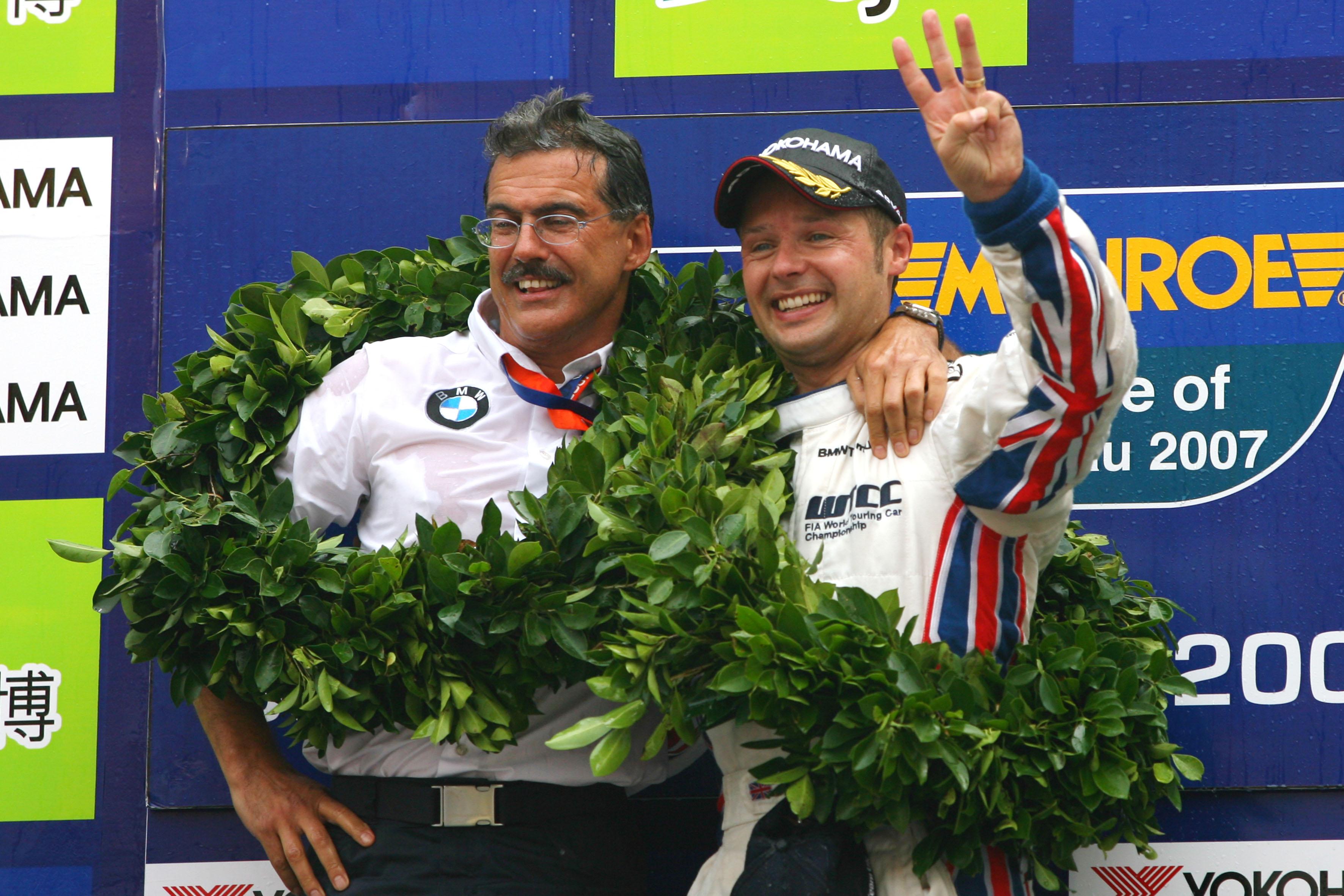 Andy Priaulx BMW wins 2007 WTCC Macau