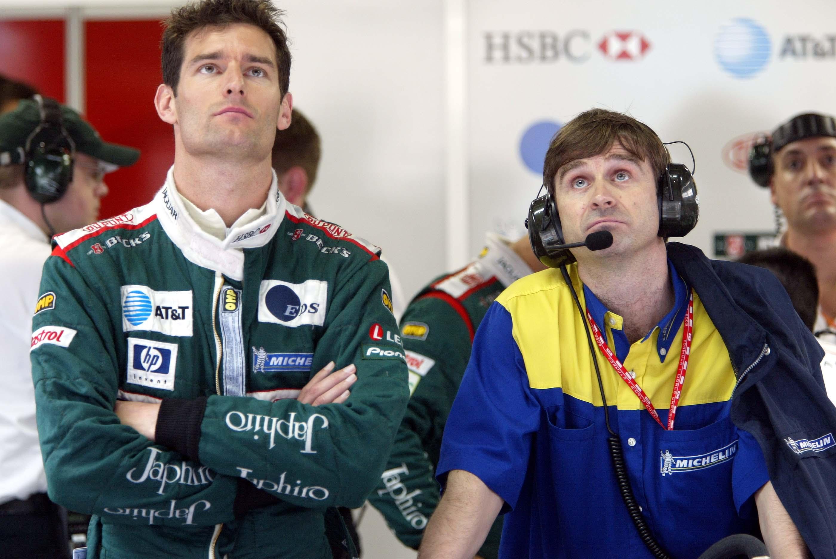 Mark Webber 2003