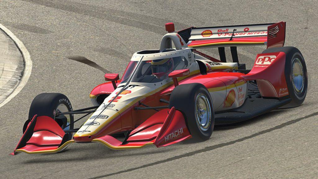 Scott McLaughlin IndyCar iRacing