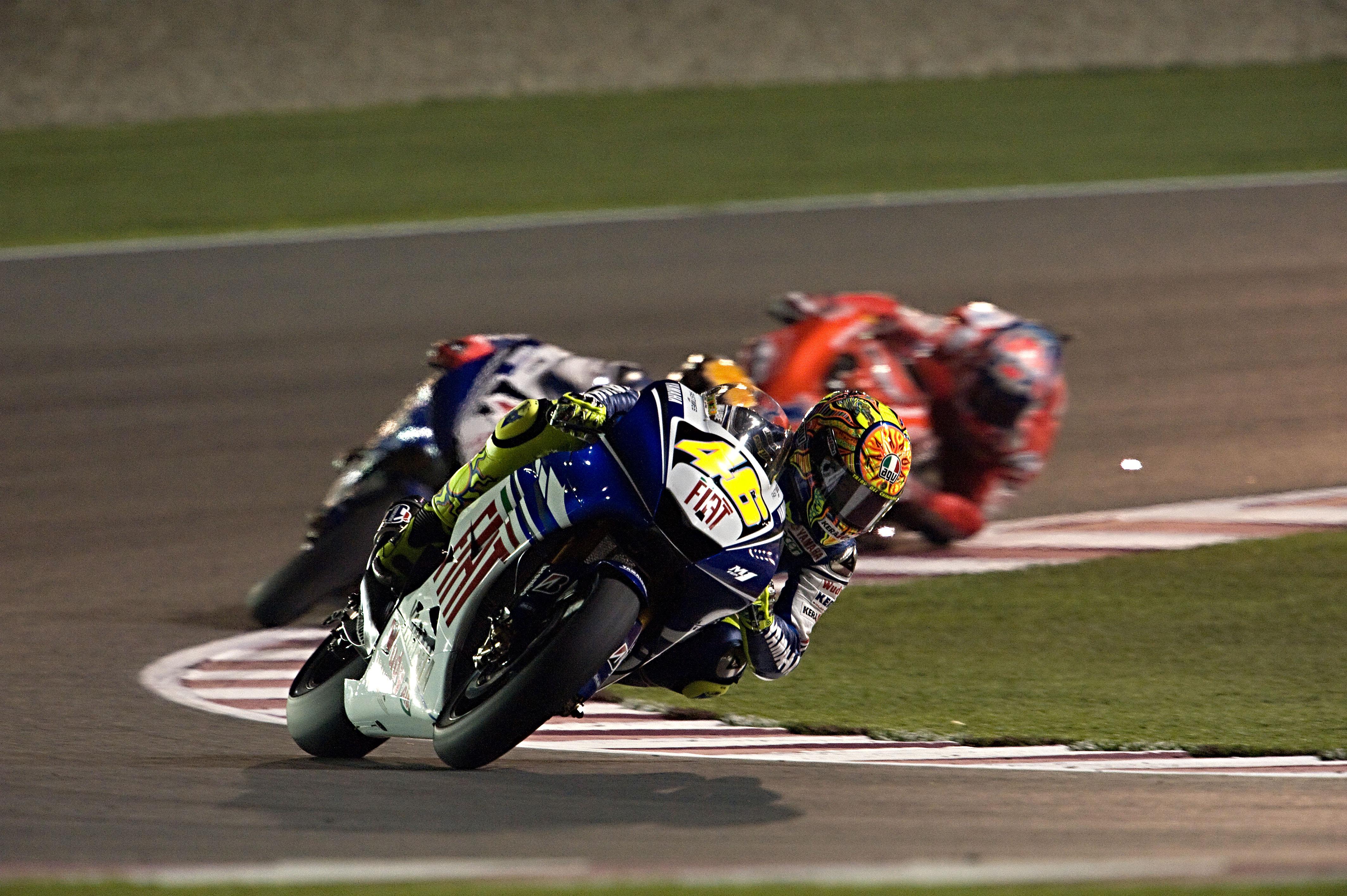 Valentino Rossi Yamaha Qatar MotoGP 2008