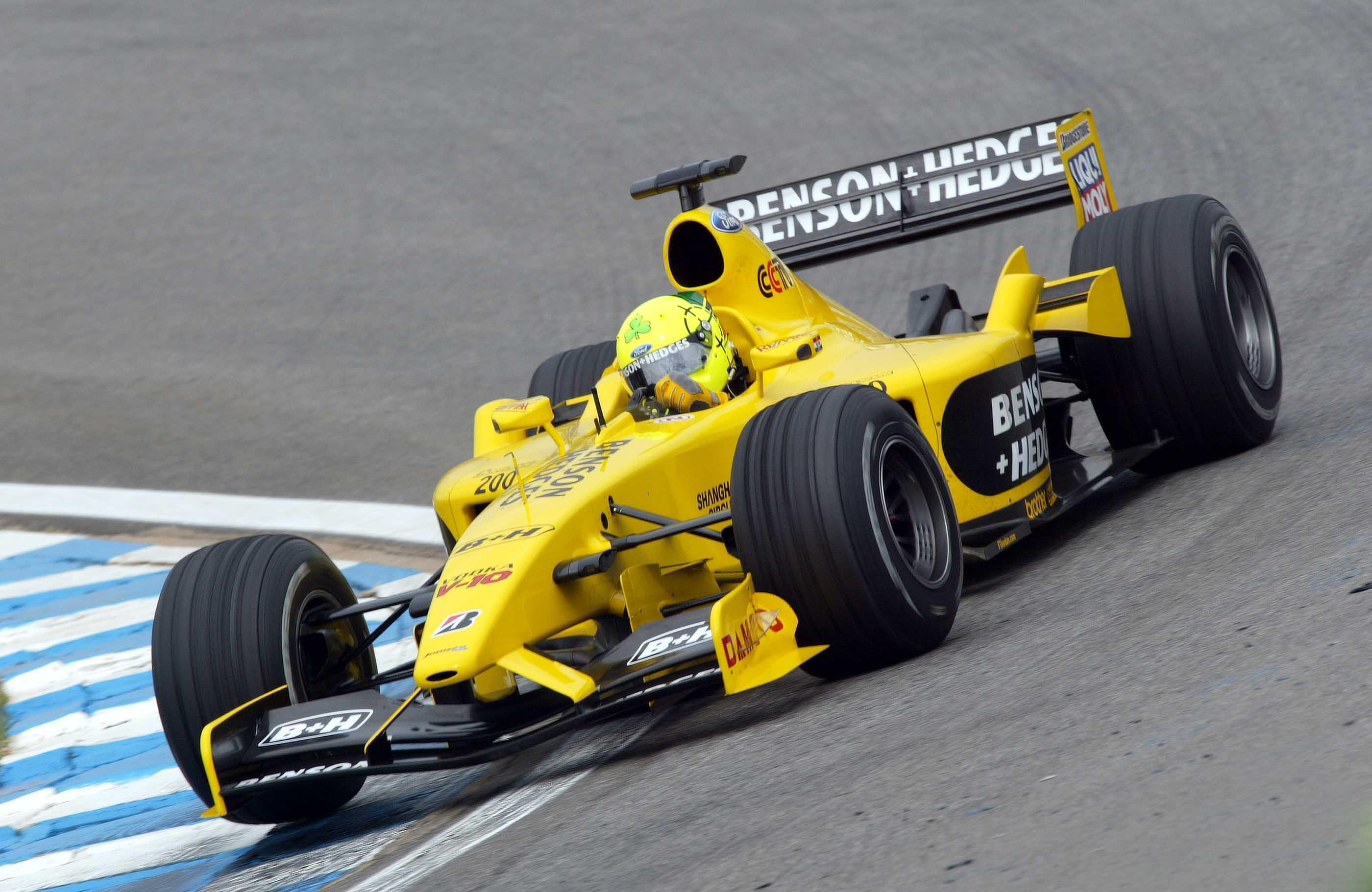 Sao Paolo, F1, Ralph Fireman (gb, Jordan Ford)