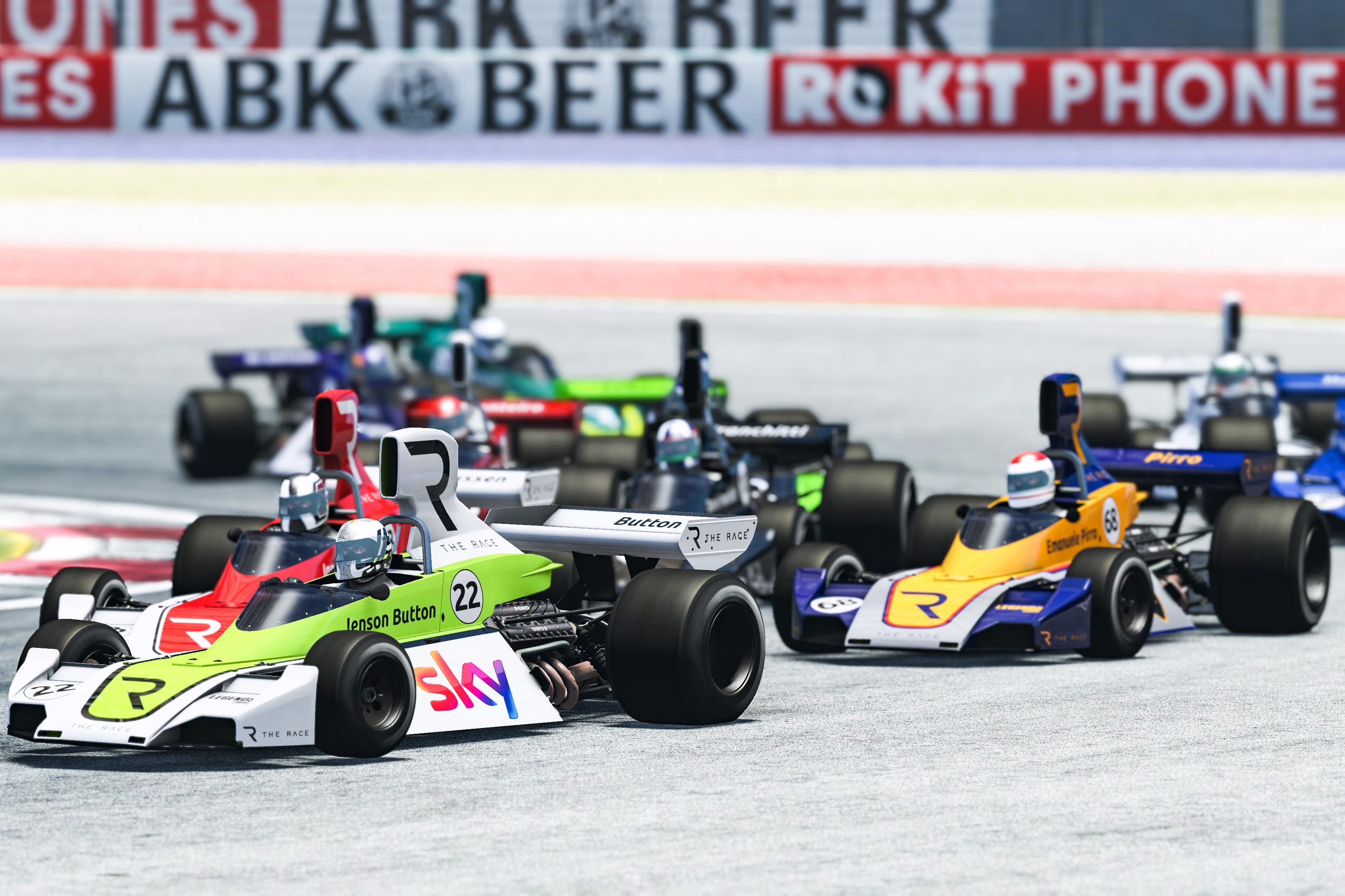 Jenson Button The Race Legends Trophy