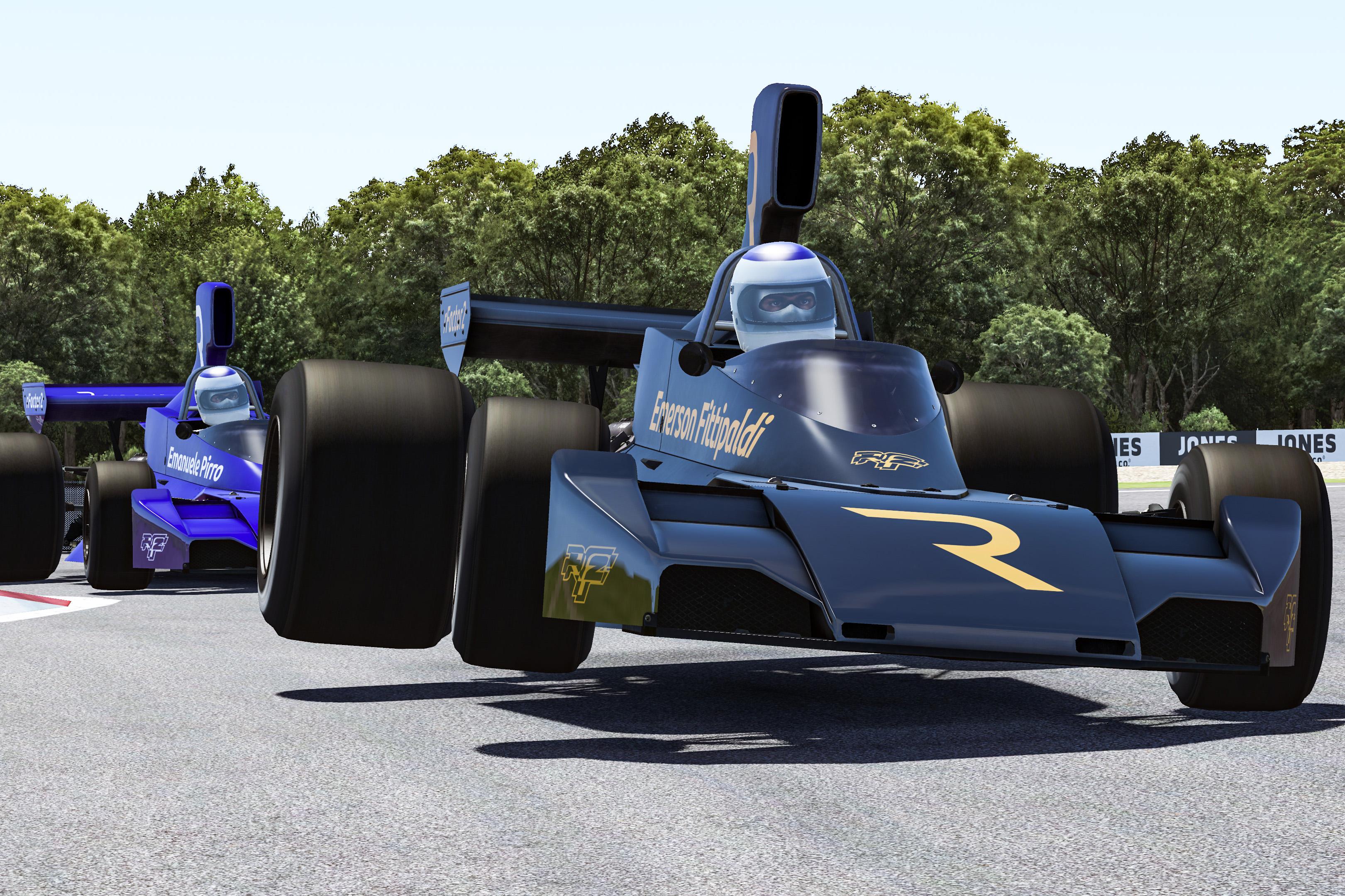 Emerson Fittipaldi The Race Legends Trophy