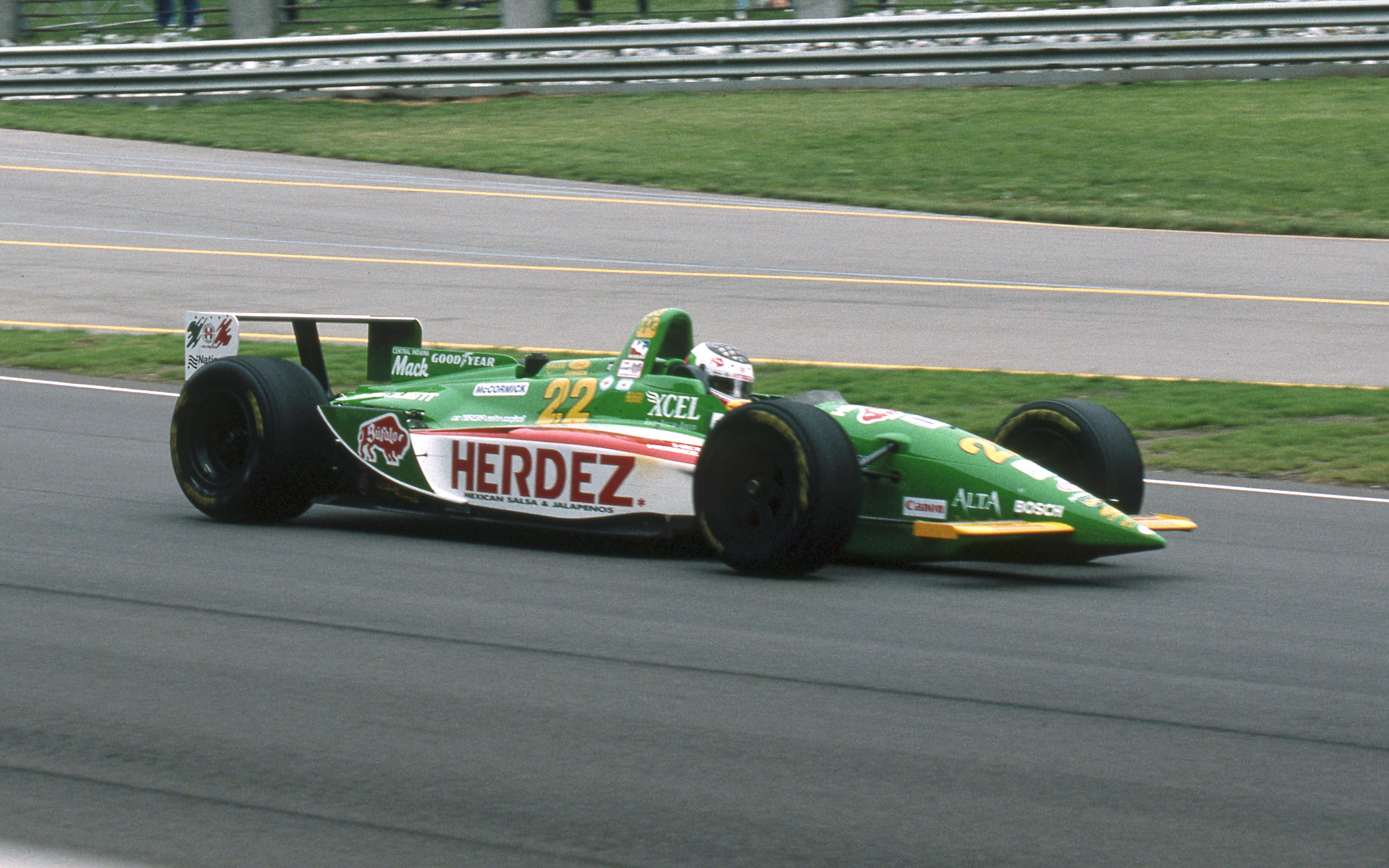 Michel Jourdain Jr Scandia 1996 Indy Racing League