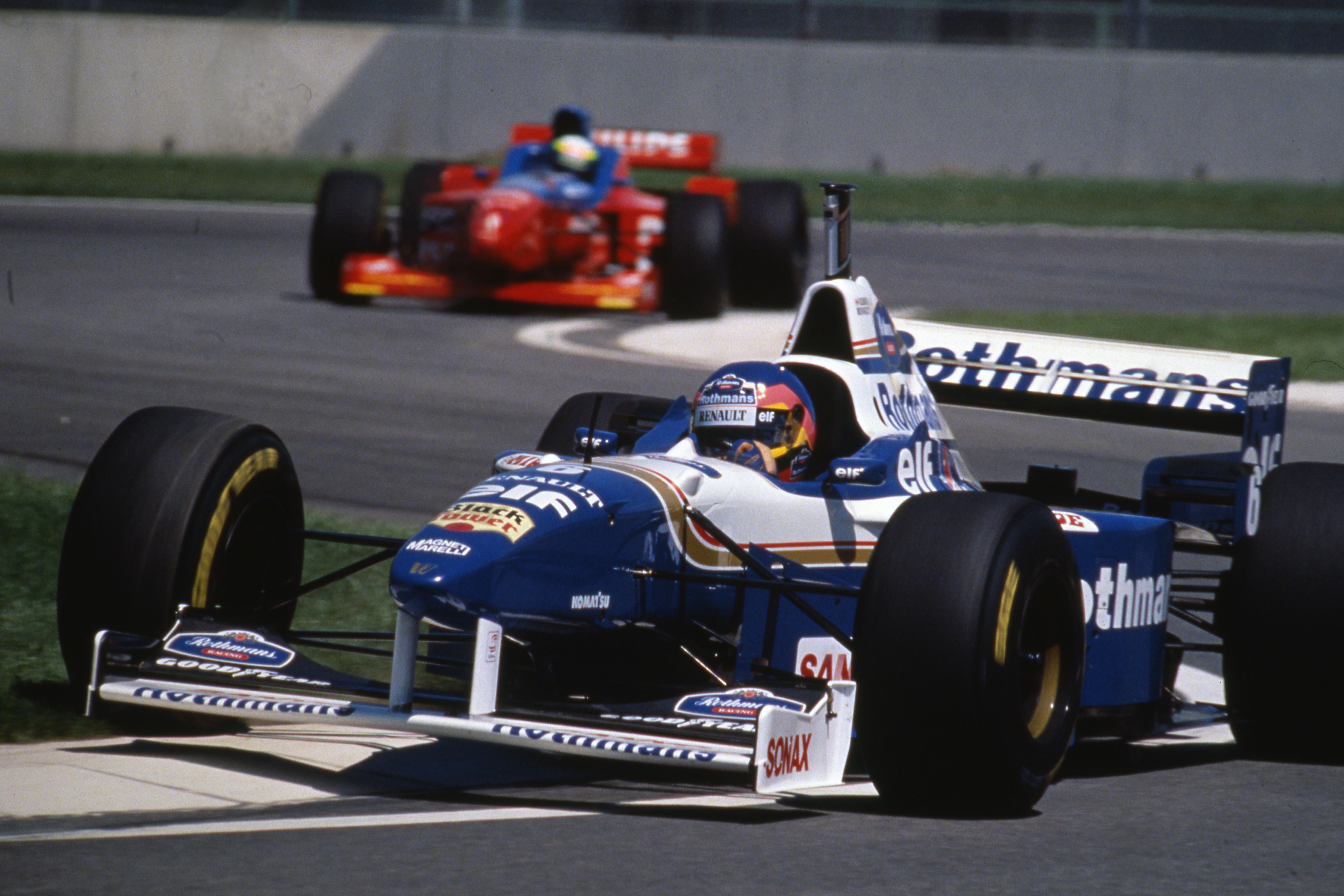 Jacques Villeneuve Williams San Marino Grand Prix 1996 Imola