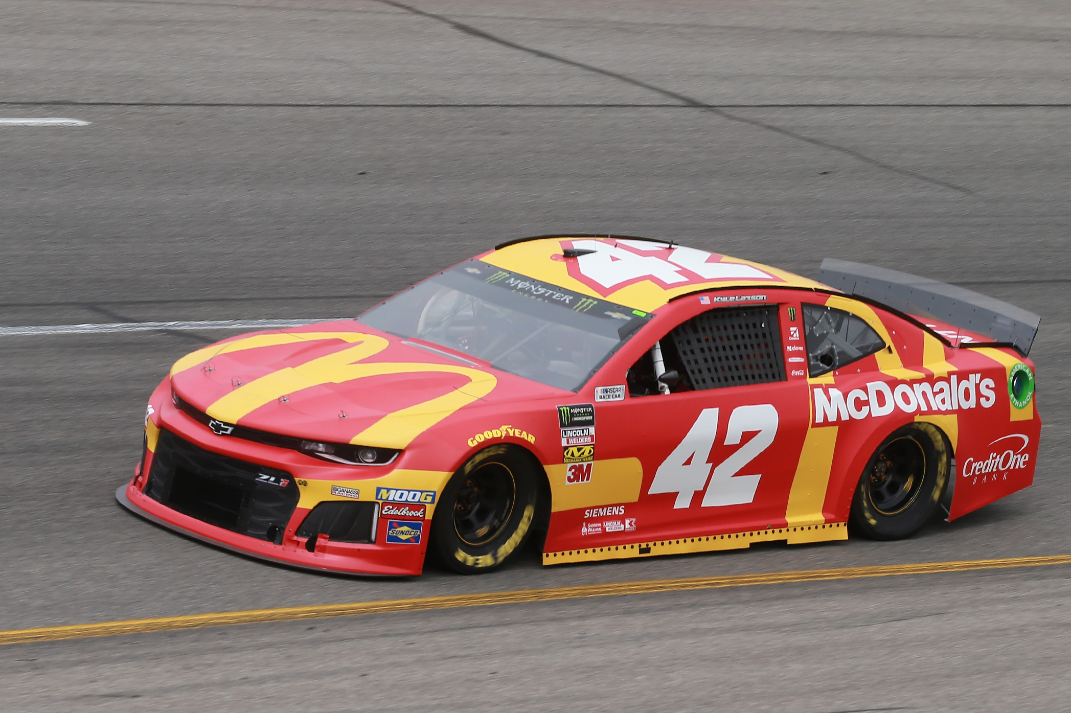 Kyle Larson Ganassi Chevrolet NASCAR