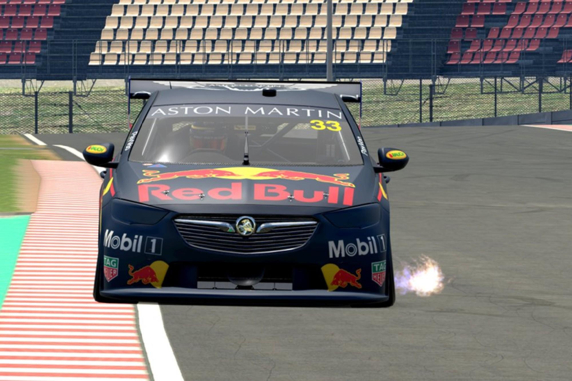 Max Verstappen Supercars Esports Red Bull 2020