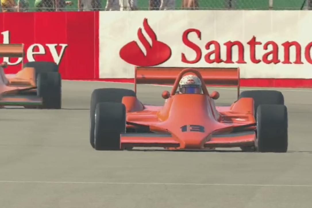 Max Verstappen Team Redline legends race