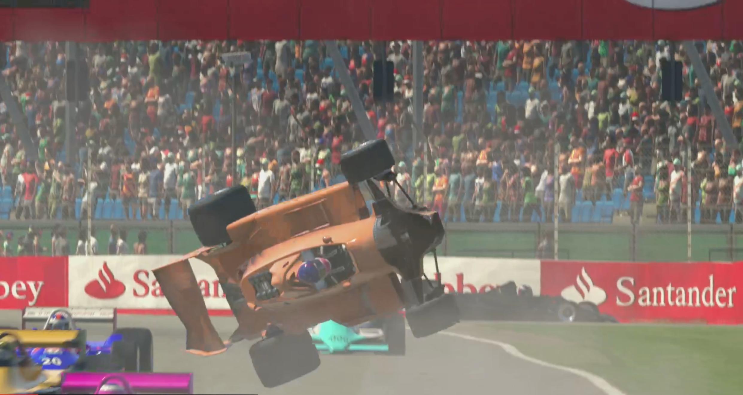 Kelvin van der Linde Redline legends crash