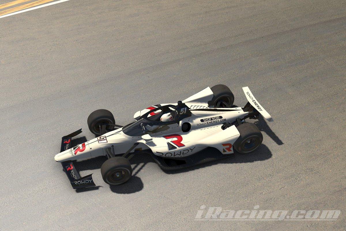 Kyle Busch IndyCar iRacing