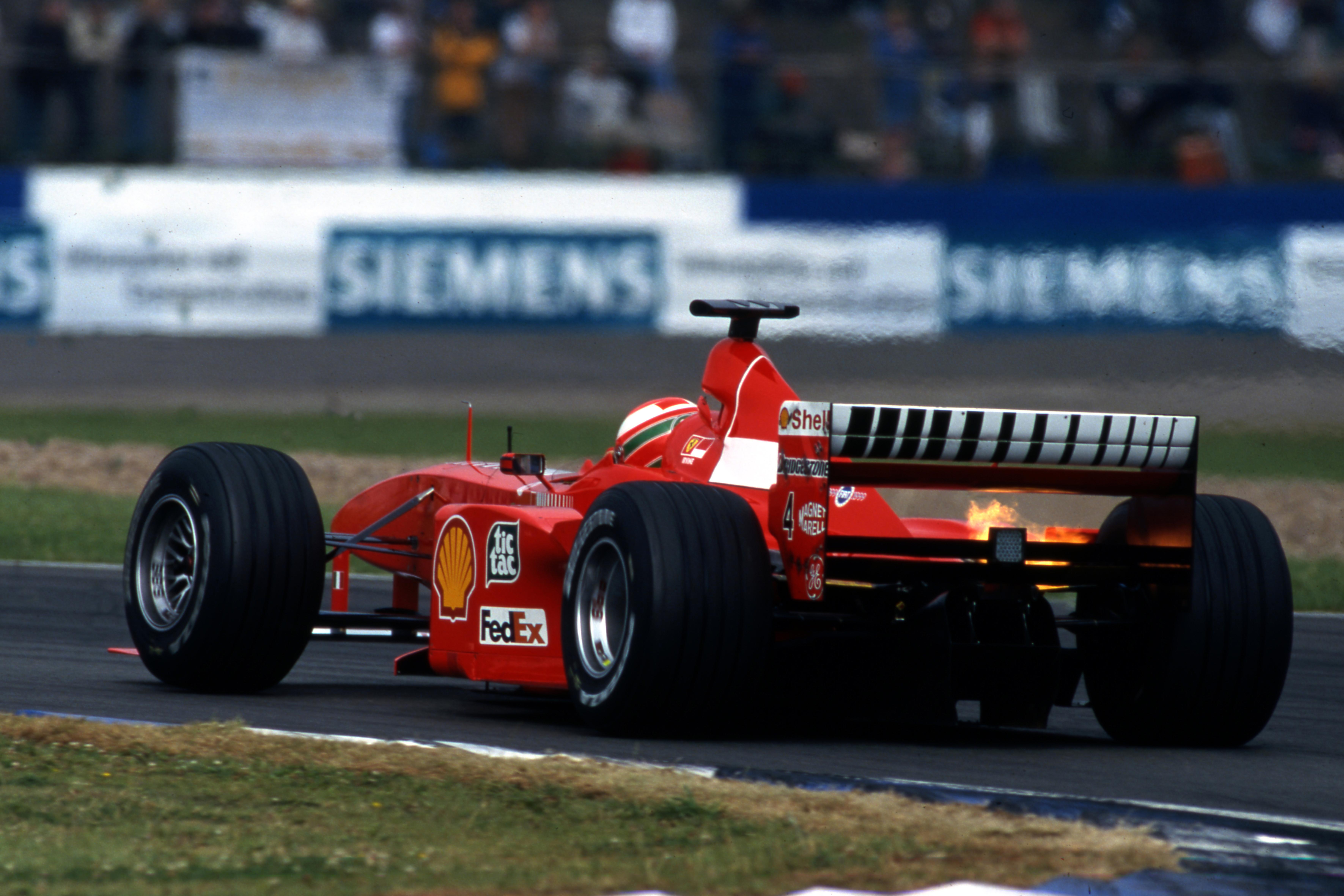 Eddie Irvine Ferrari British Grand Prix 1999 Silverstone