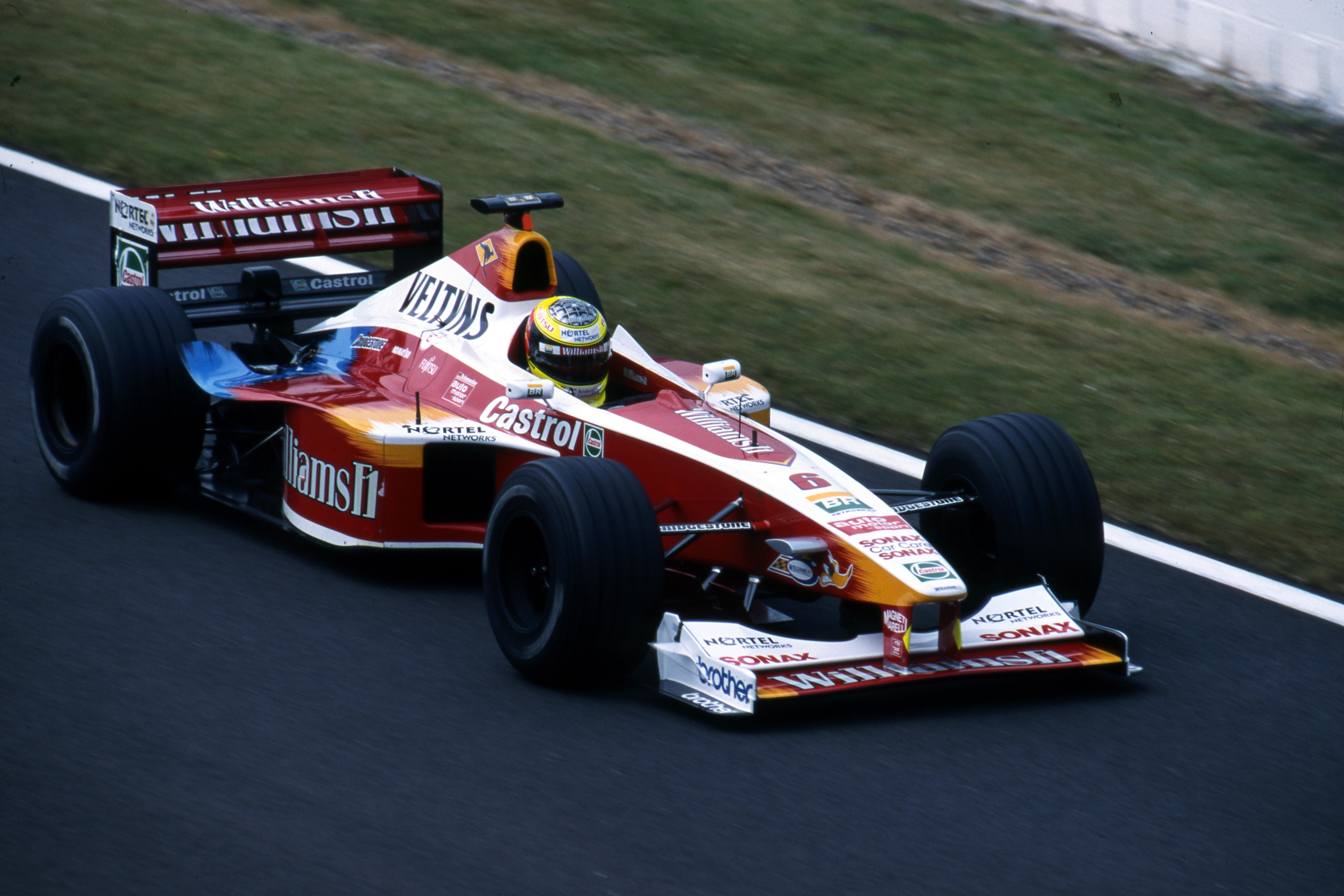 Ralf Schumacher Williams British Grand Prix 1999 Silverstone