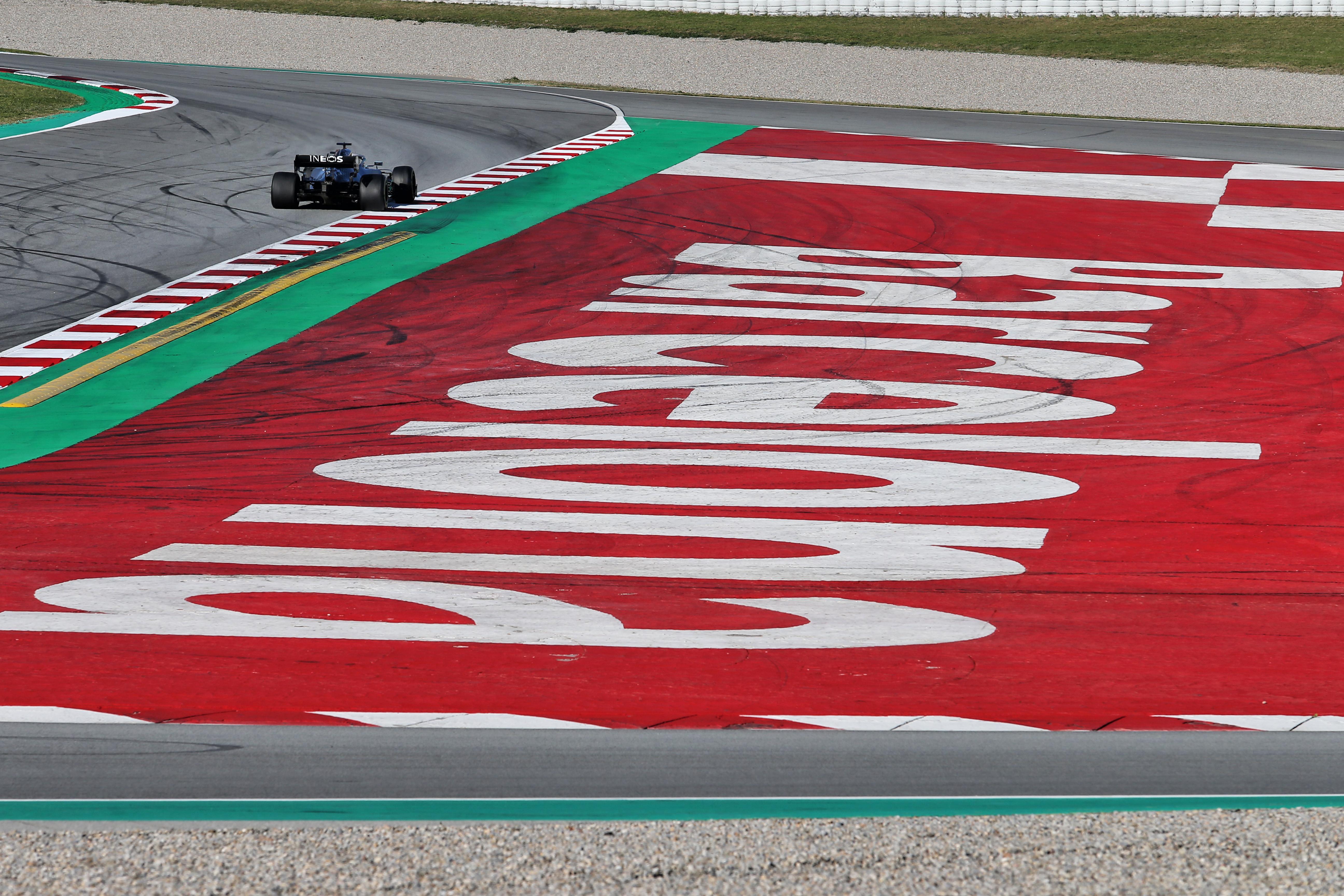 Lewis Hamilton Mercedes Barcelona F1 testing 2020