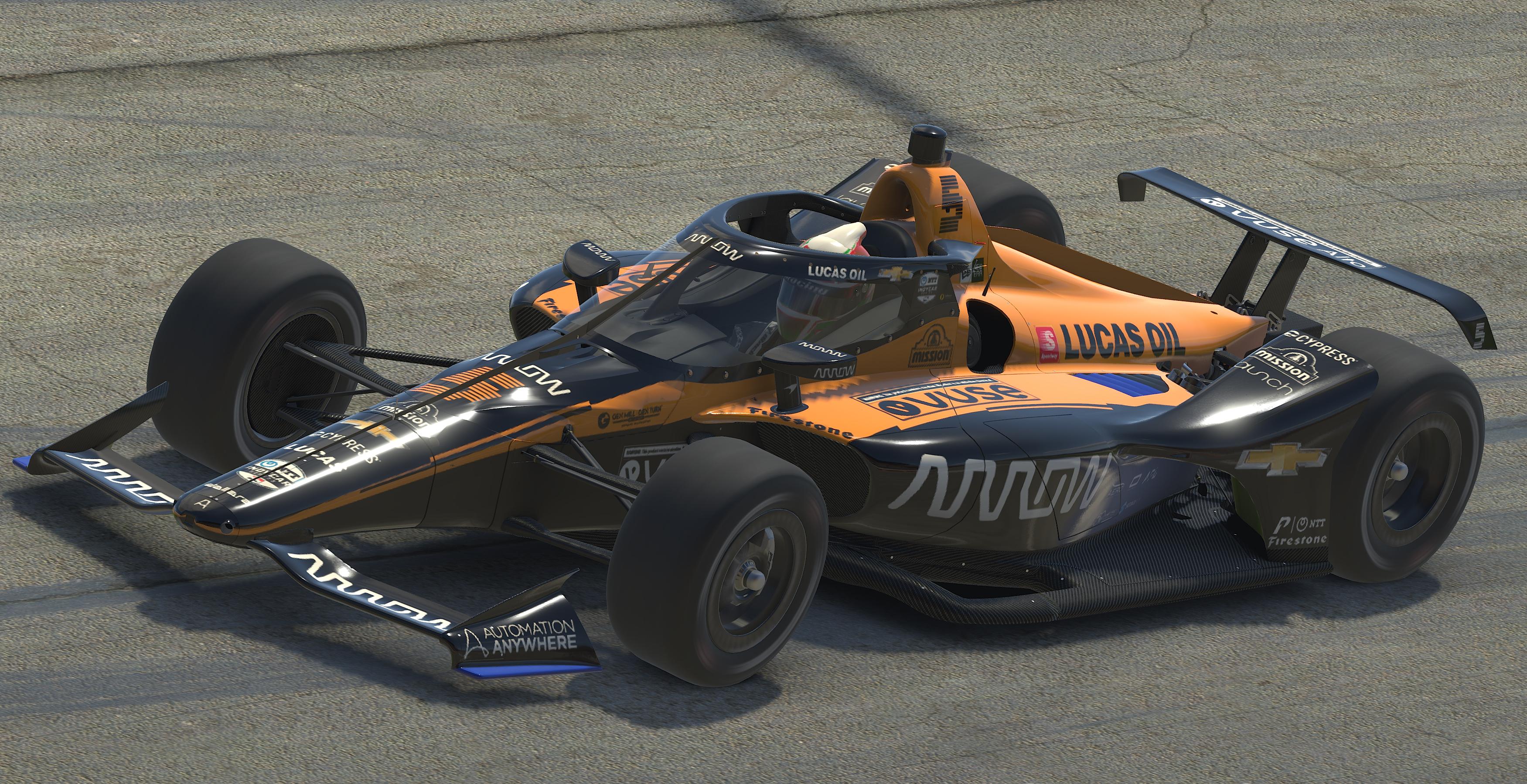 Indycar Iracing Challenge Chevrolet 275