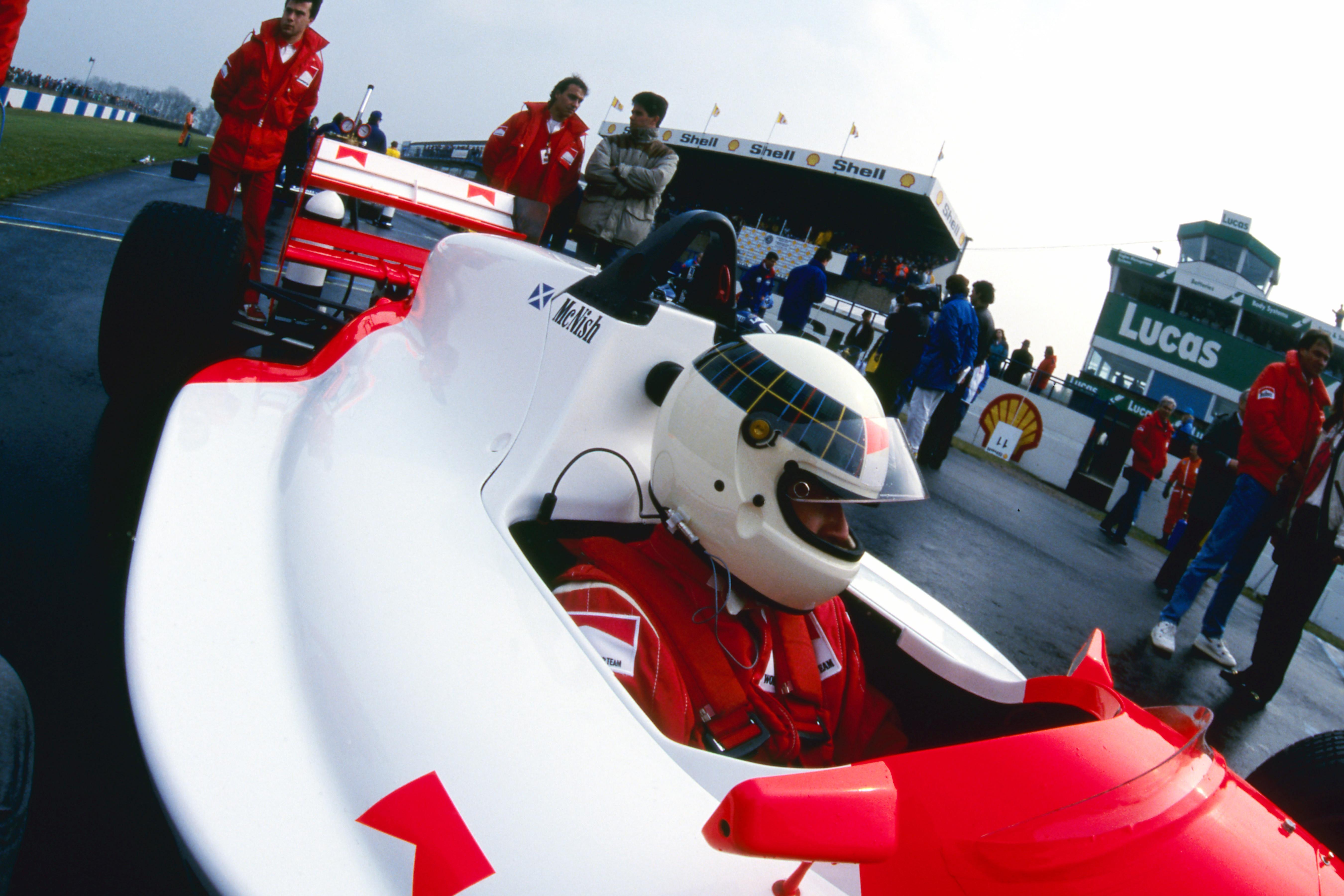 Allan McNish Donington Park Formula 3000 1990