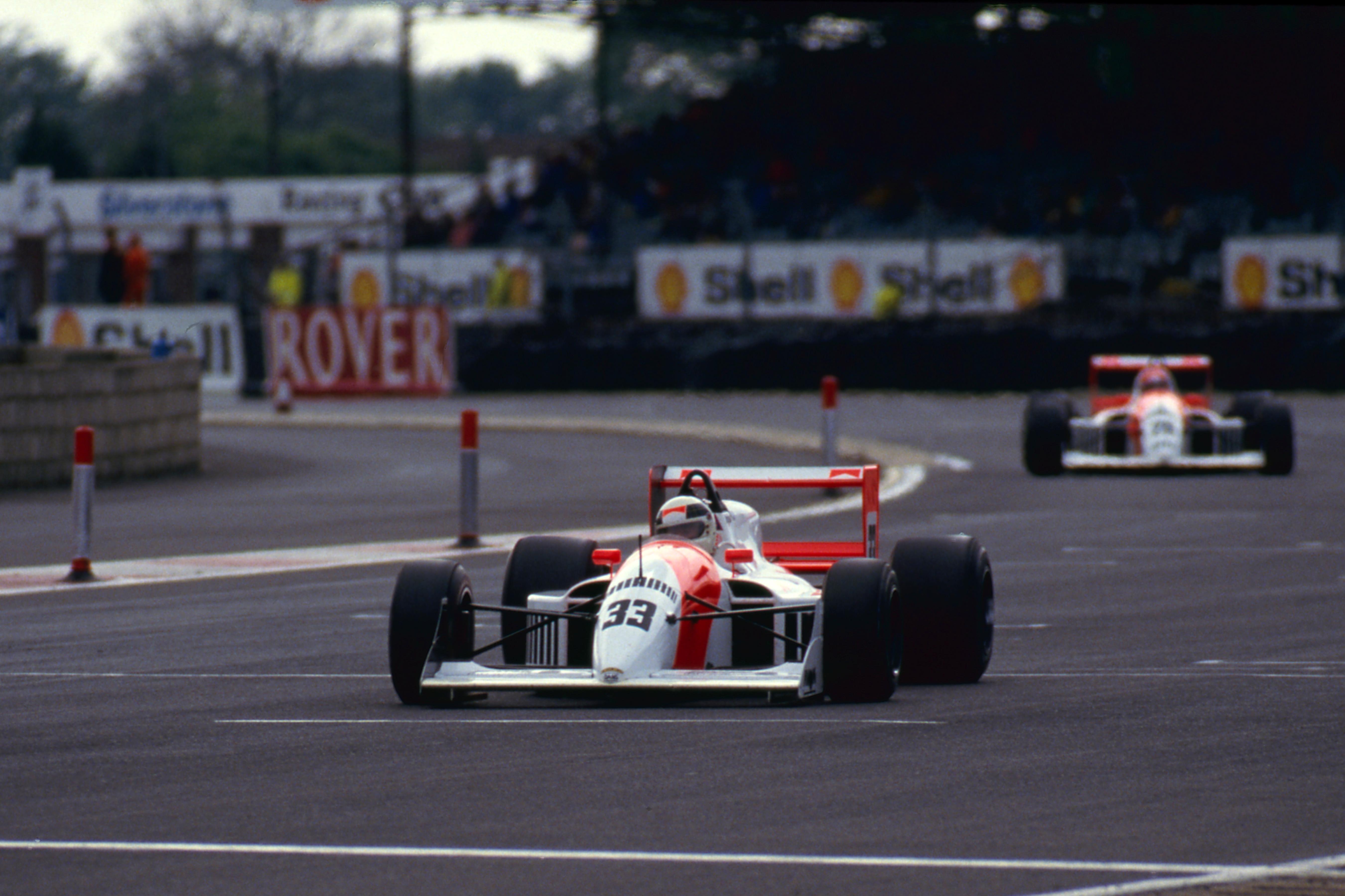 Allan McNish Erik Comas DAMS Silverstone 1990