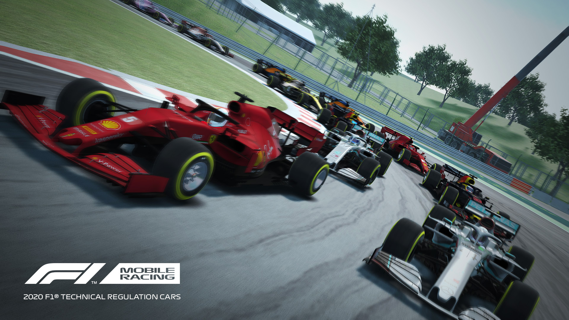 F1 Mobile Game Gets Update With 2020 Cars Zandvoort The Race